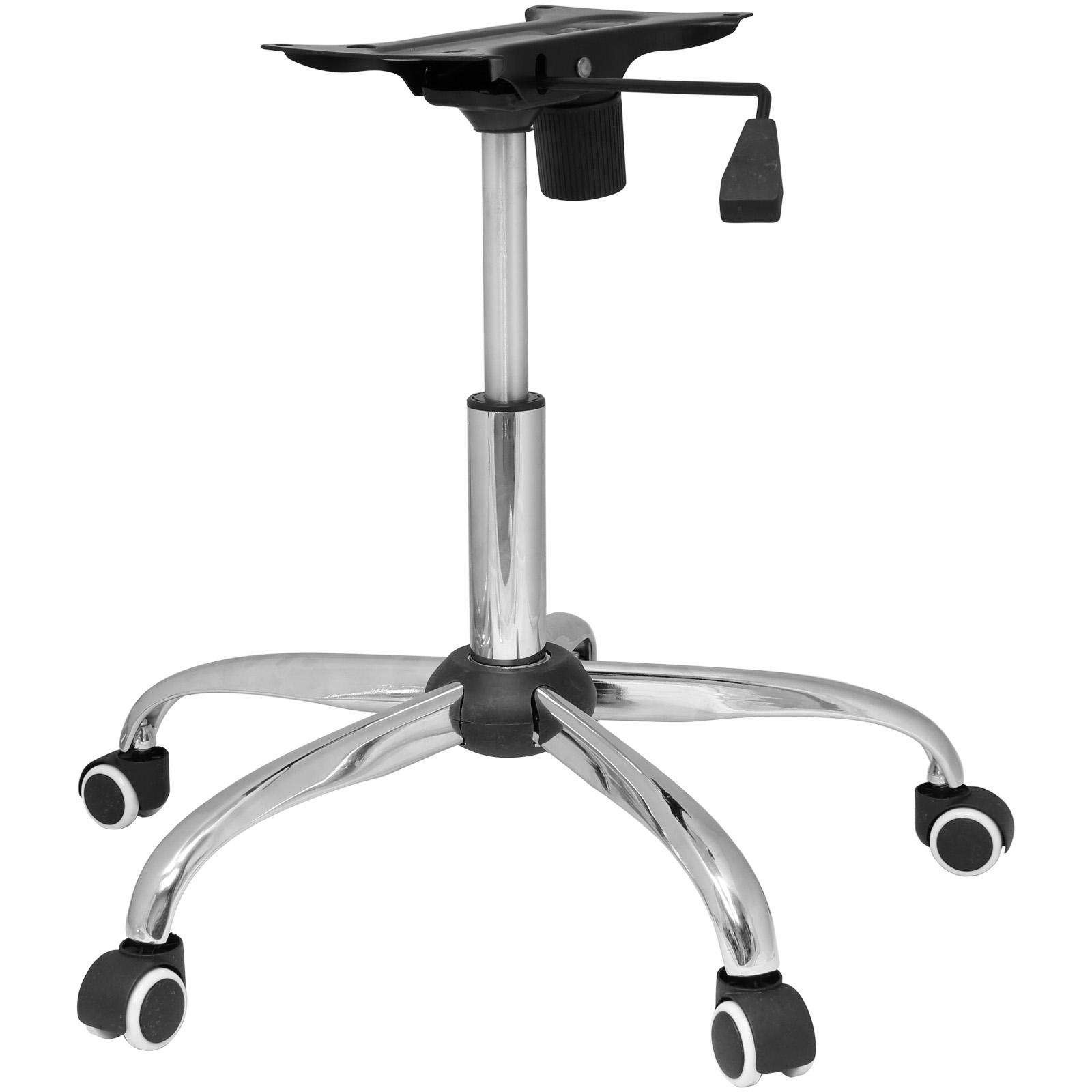 Details Sur Hartleys Kit Piece Rechange Chaise Bureau Chrome Base Roulettes Piston Mecanisme