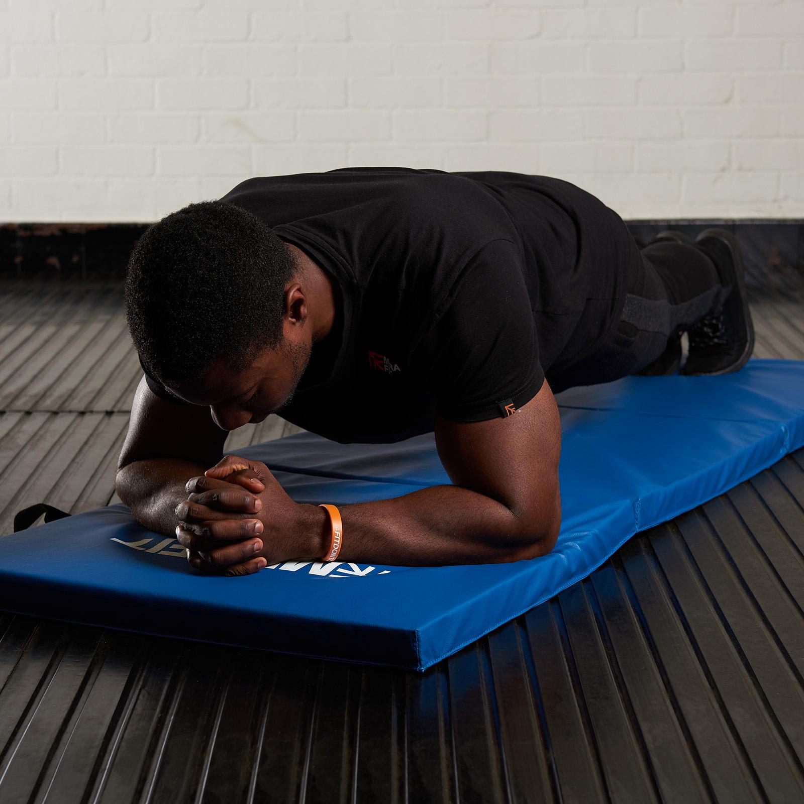 Mousse souple pliable CARRY Fitness Tapis Yoga Exercice Gym Entraînement Fitness