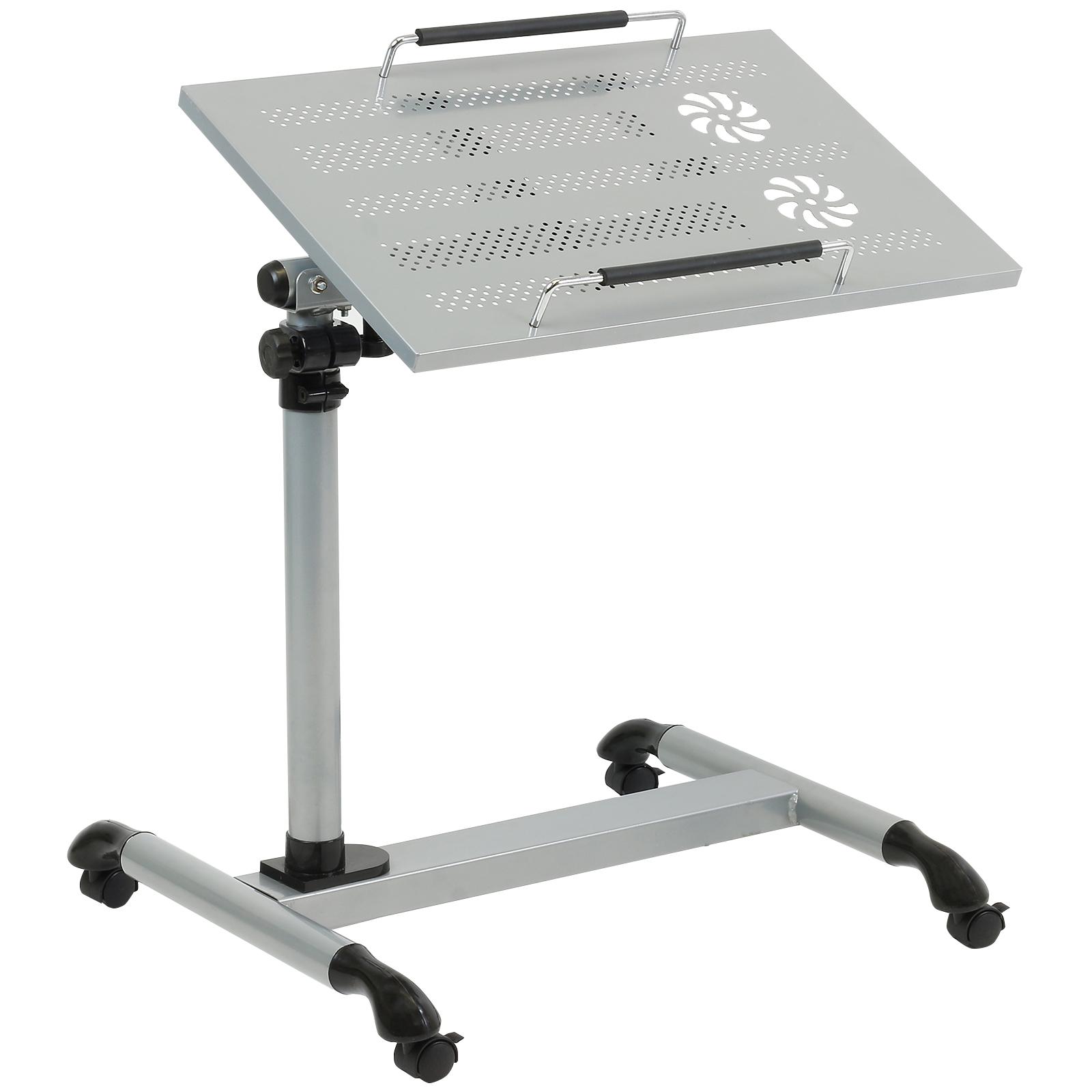 sentinel hartleys table de litchaisesige support ordinateur portable argent rglable - Table De Lit