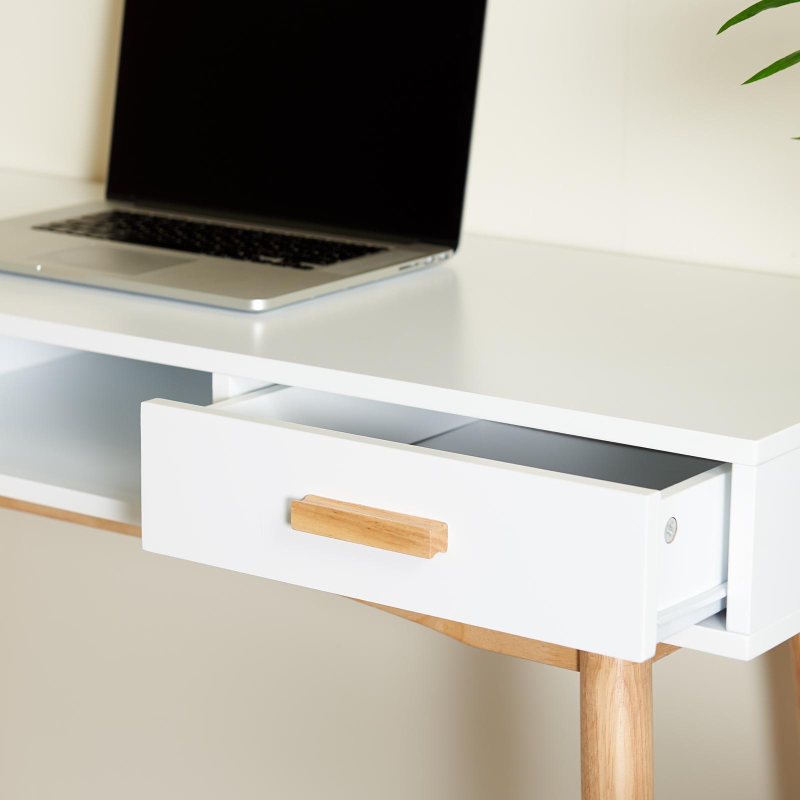 Sentinel hartleys bureau coiffeuse table rétro scandinave blanc bureau chambre maison