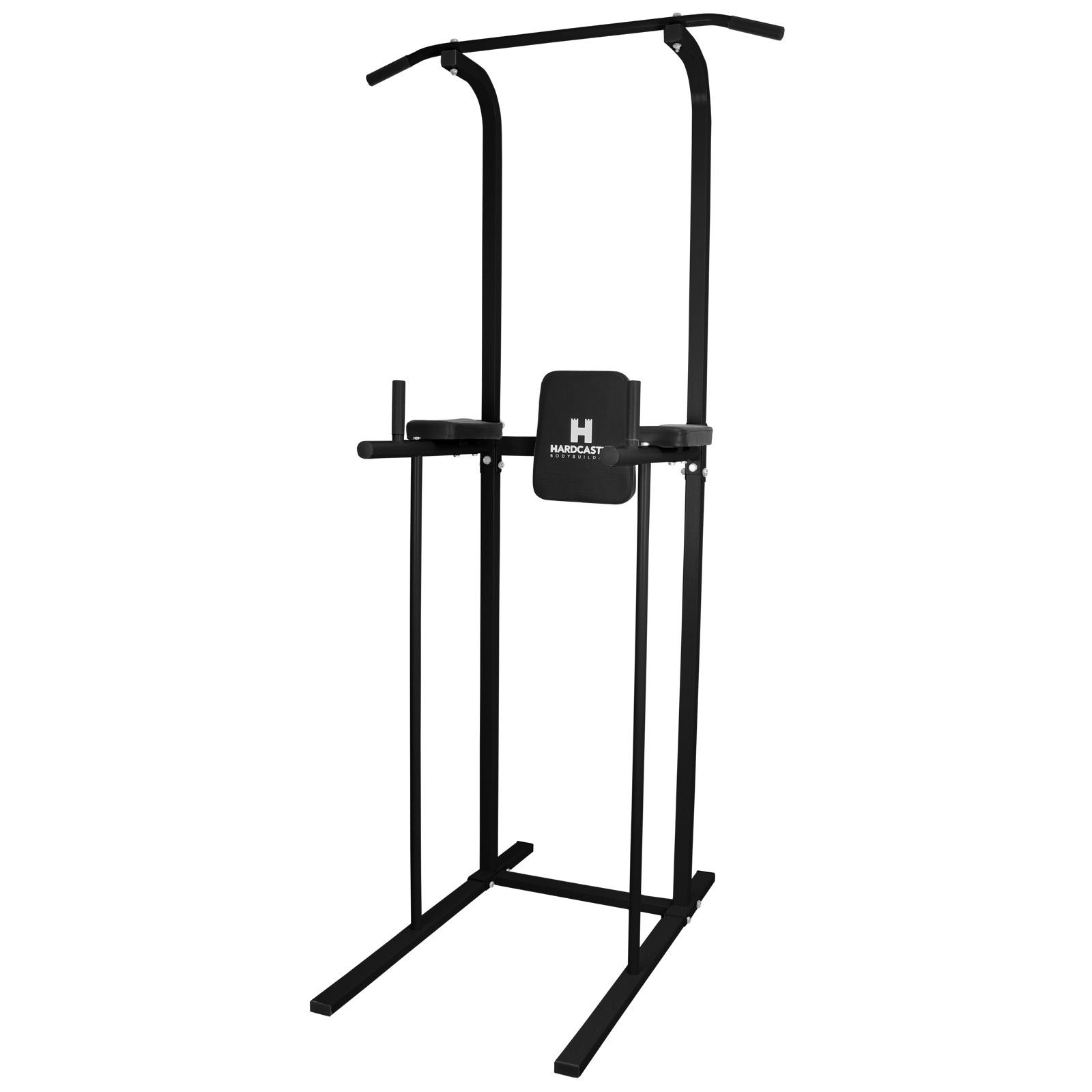 Details Sur Hardcastle Chaise Romaine Musculation Barre De Traction Station A Dips En Noir