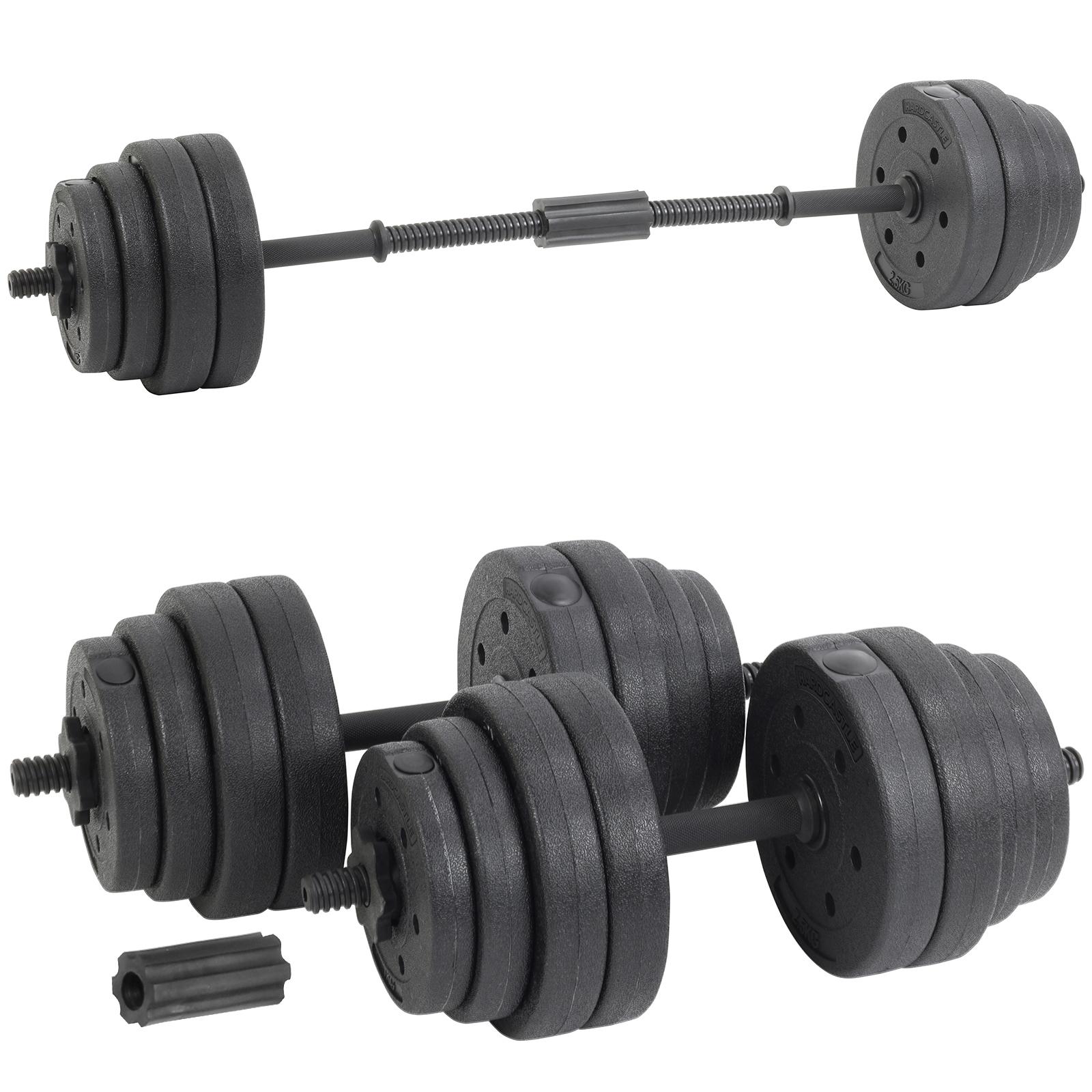 Paire D/'Haltères Haltérophilie Et Fitness Dumbells Poids 30 Kg Réglables Faciles