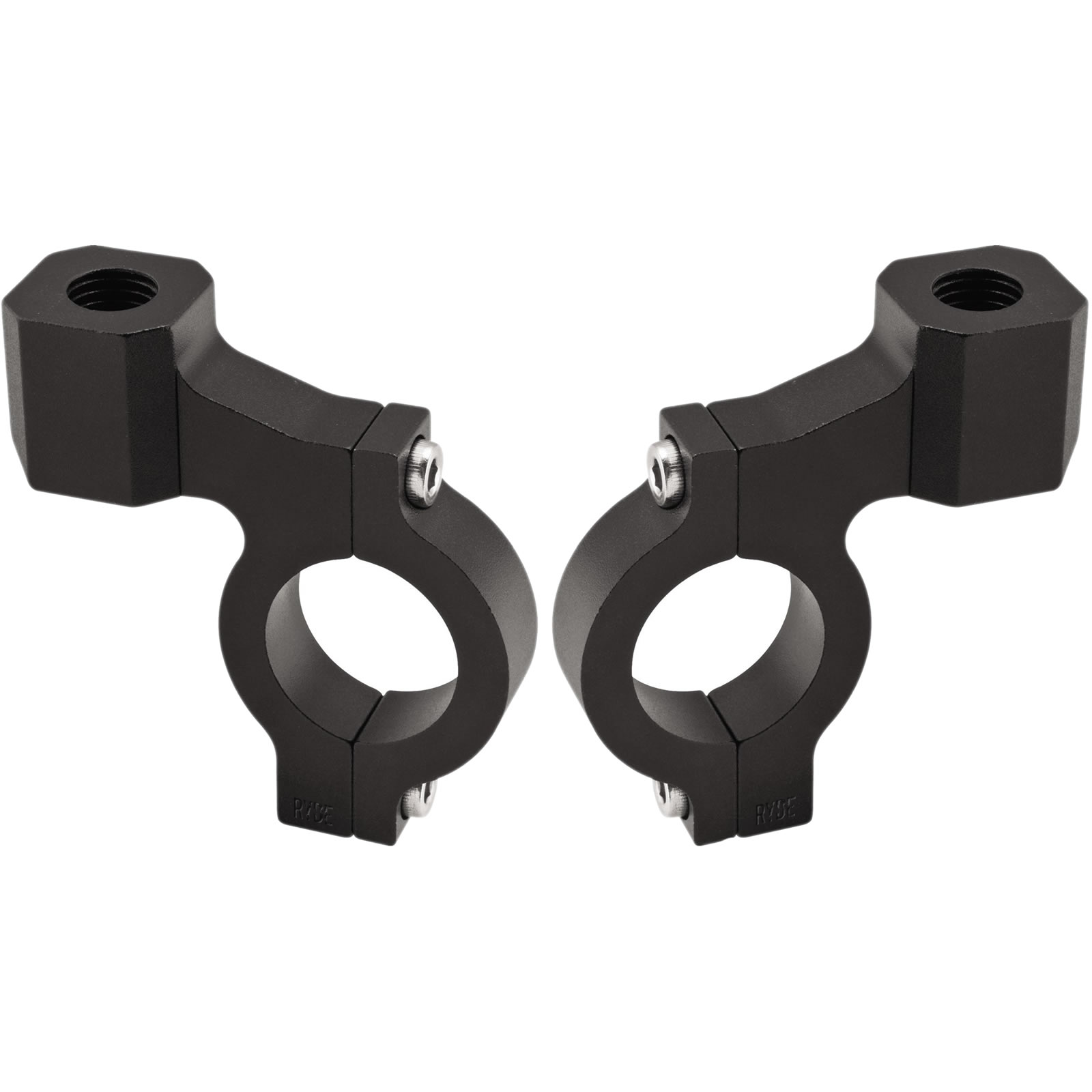 Staffa Per Attacco Specchietto 10mm Su Adattatore Per Manubrio Da Moto 22mm 7//8