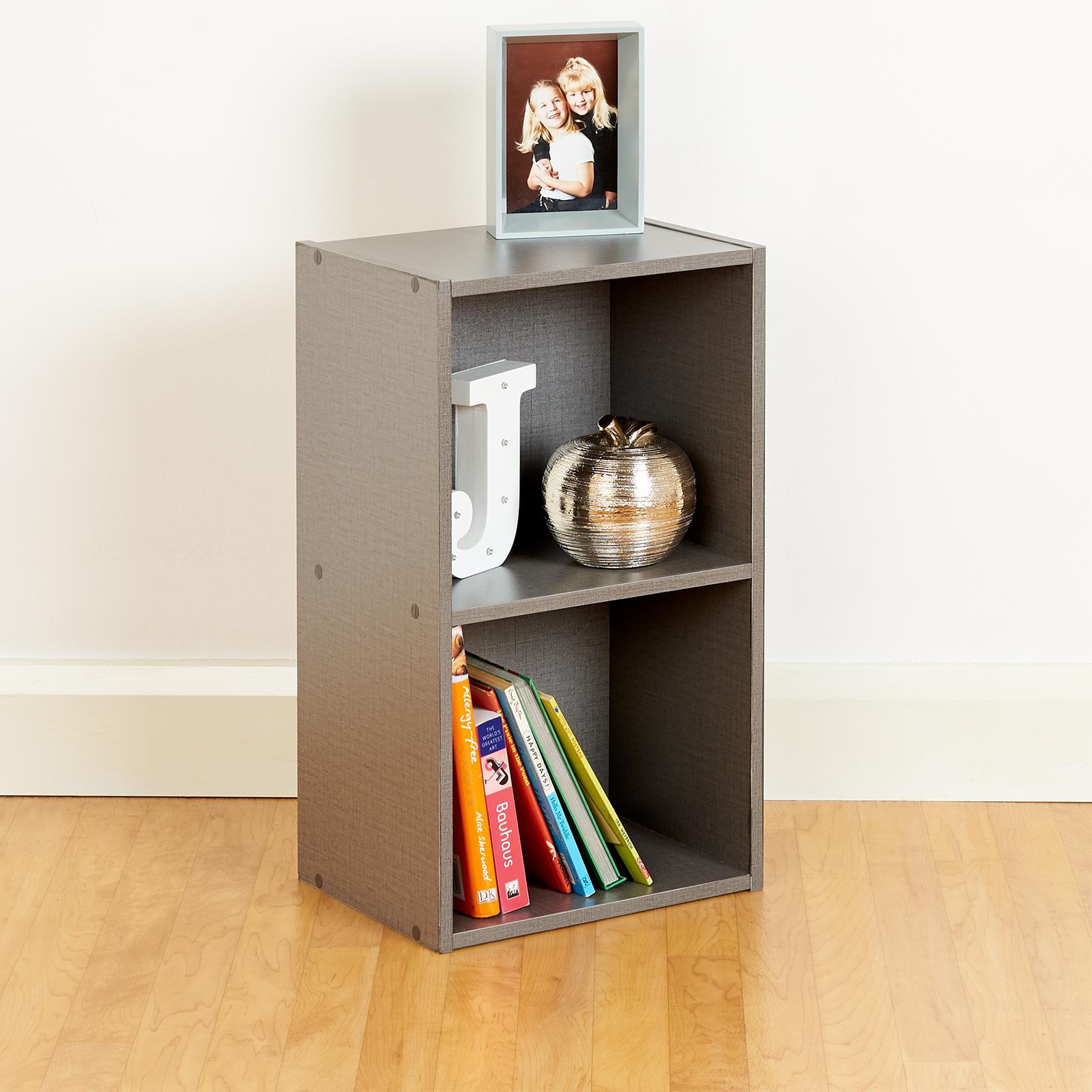 Top Home Solutions Libreria in legno a 4/ripiani portaoggetti a ripiani