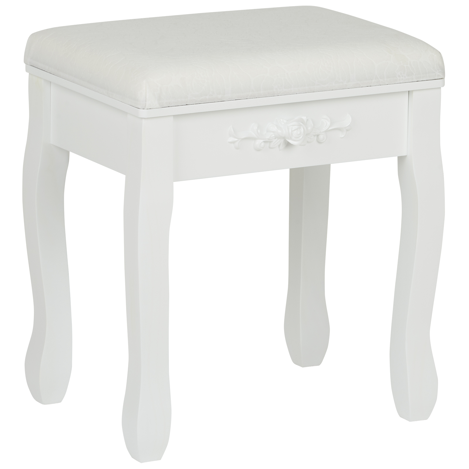 Pleasing Details About Hartleys White Dressing Table Stool Soft Padded Chair Makeup Vanity Bedroom Seat Squirreltailoven Fun Painted Chair Ideas Images Squirreltailovenorg