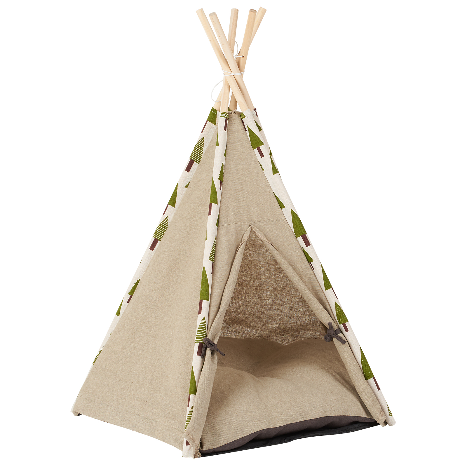 on sale 3bc4b 15876 Details about Me & My Pets Forest Print Teepee Bed Cat/Kitten/Dog/Puppy  Igloo Play Tent House
