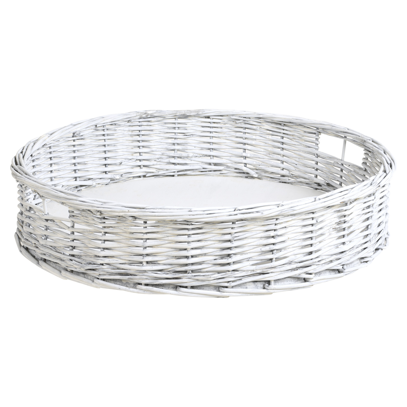 Hartleys-Round-Wicker-Serving-Tray-Decorative-Wooden-Platter-Coffee-Table-Decor thumbnail 13