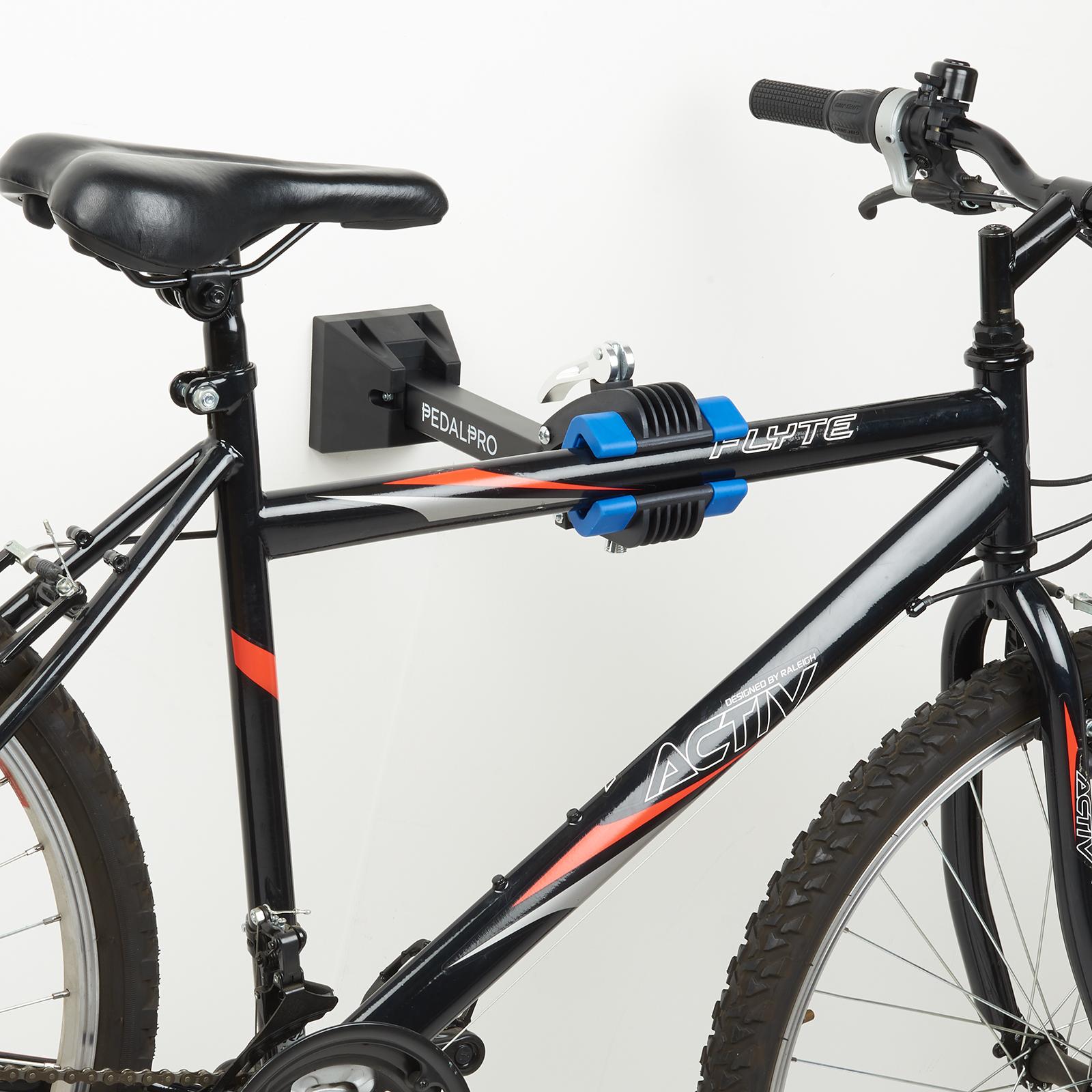 Fixation Pour Velo Garage détails sur pedalpro support entretien atelier de vélo a montage murale  porte-vélos outils