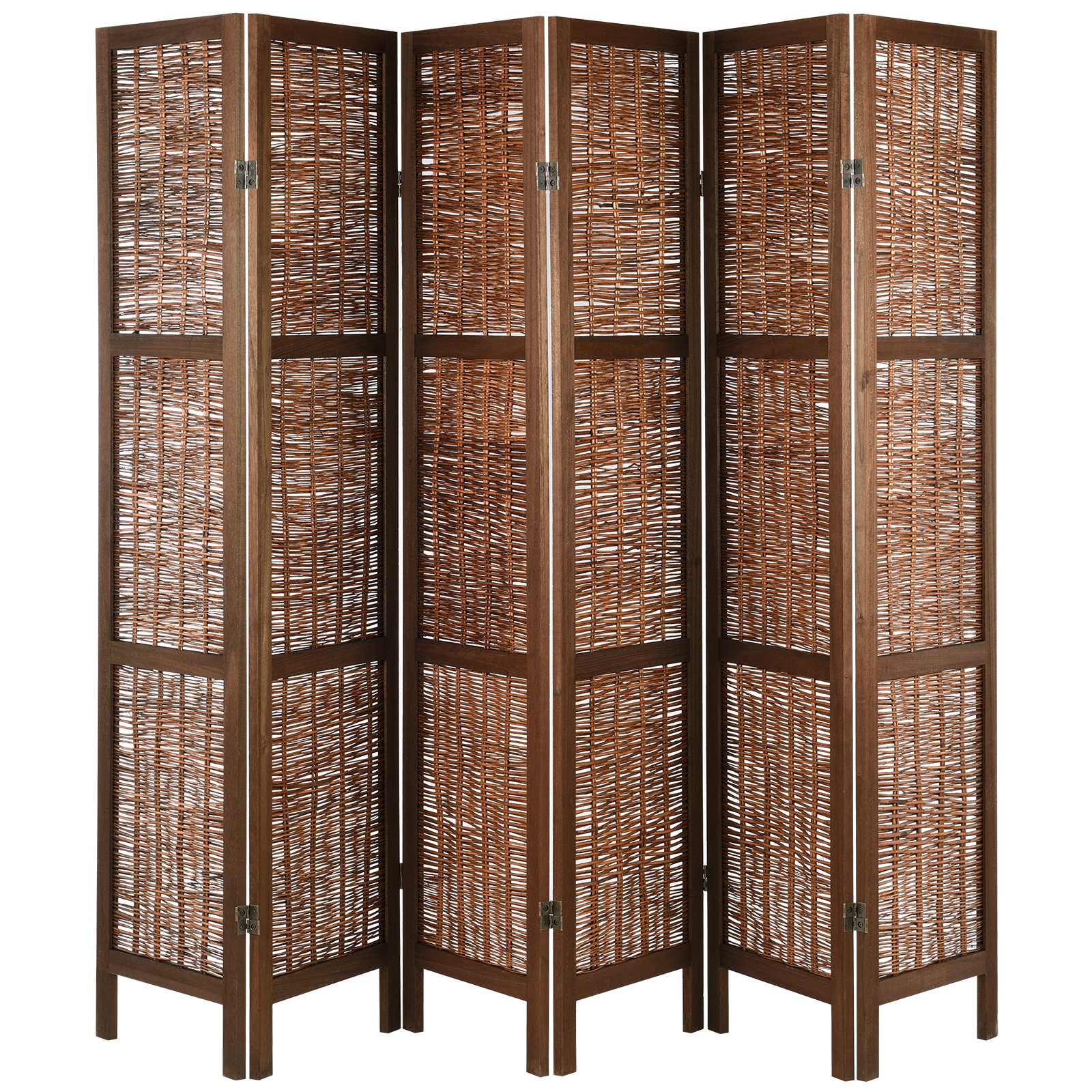 Shabby Chic Vintage Milano.Wooden Shabby Chic Vintage Slat Room Divider Privacy Screen