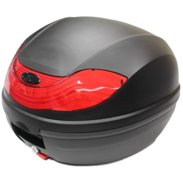 Beau Sentinel RYDE 32L BLACK MOTORCYCLE BACK BOX/TOPBOX LUGGAGE/HELMET STORAGE  MOTORBIKE/BIKE