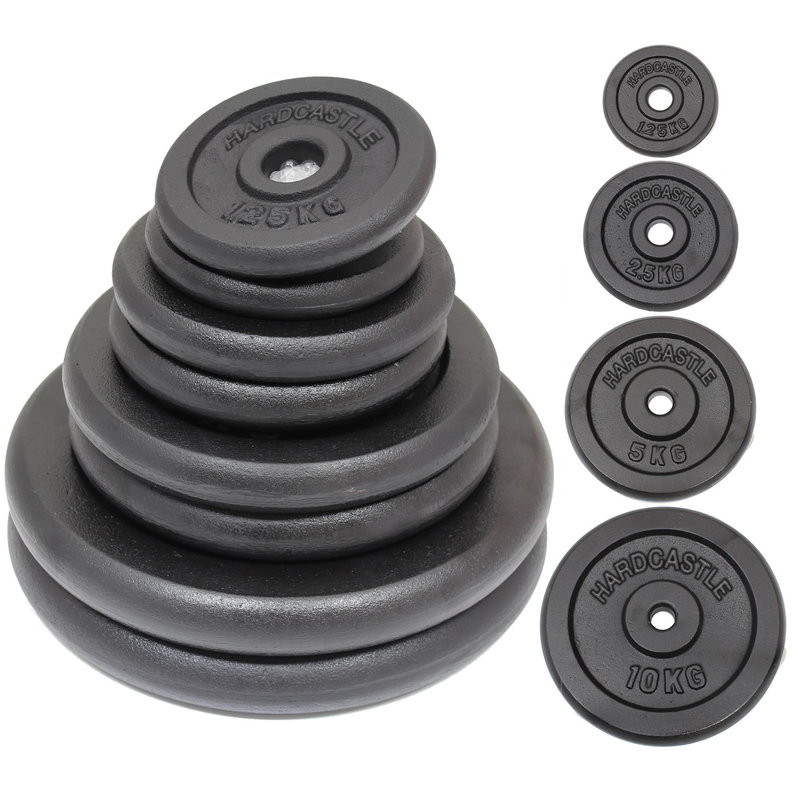 CAST-IRON-WEIGHTS-STANDARD-1-034-HOLE-HOME-GYM-WEIGHT-PLATES-DISCS-TRAINING-LIFTING thumbnail 13