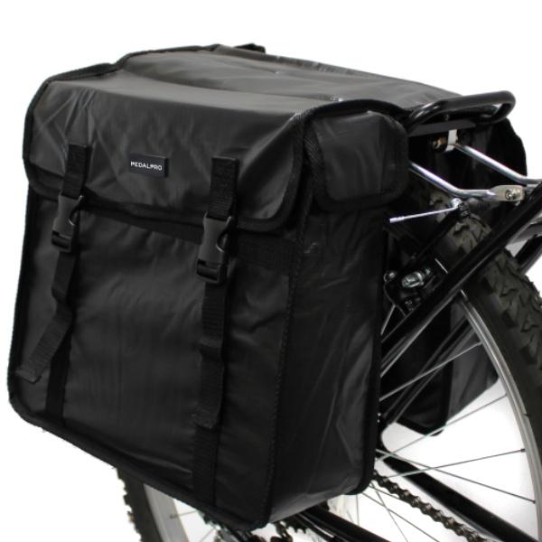 pedalpro wasserdichte doppel fahrradtasche f r hinten 2. Black Bedroom Furniture Sets. Home Design Ideas