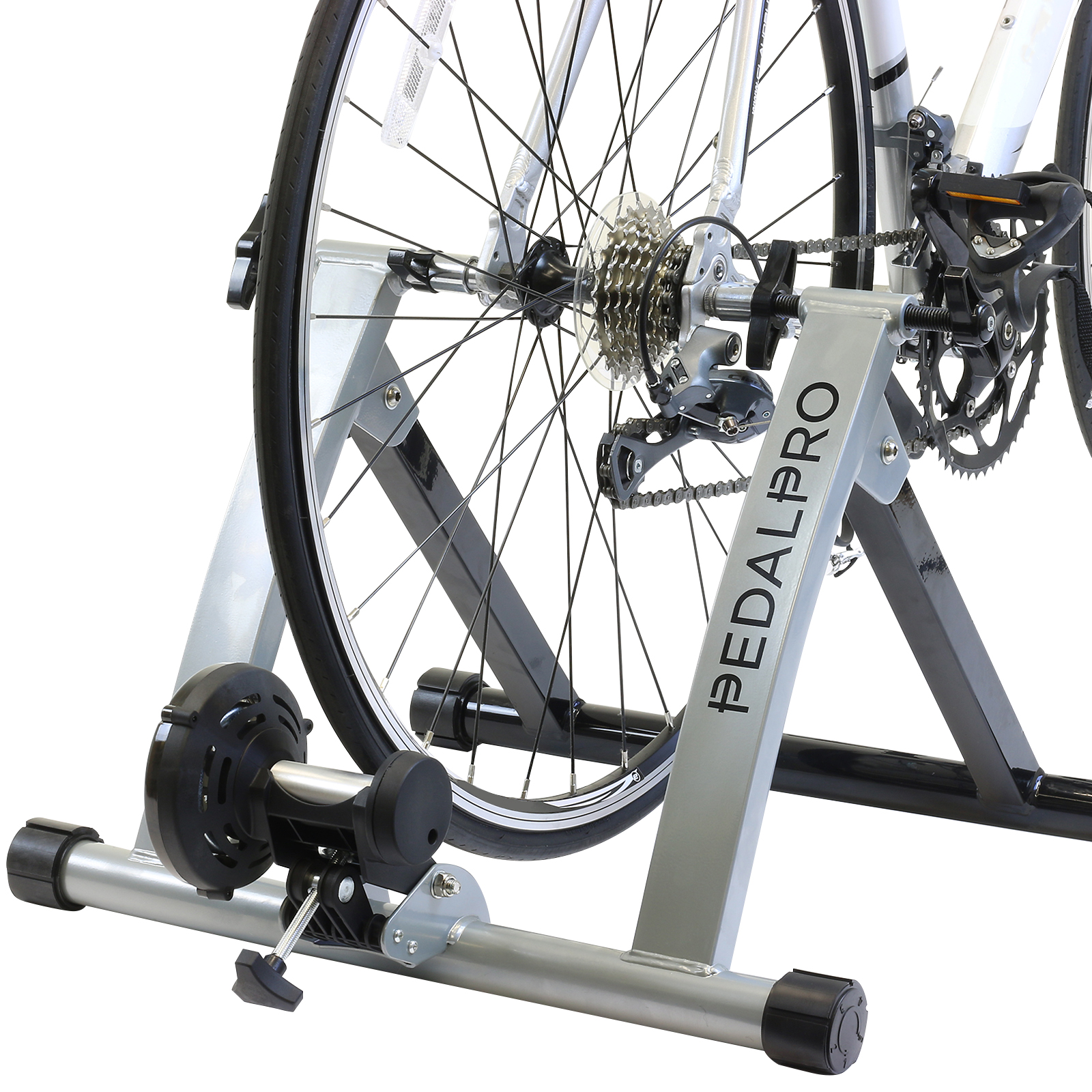 Pedalpro Turbo Trainer Indoor Folding Exercise Bike For