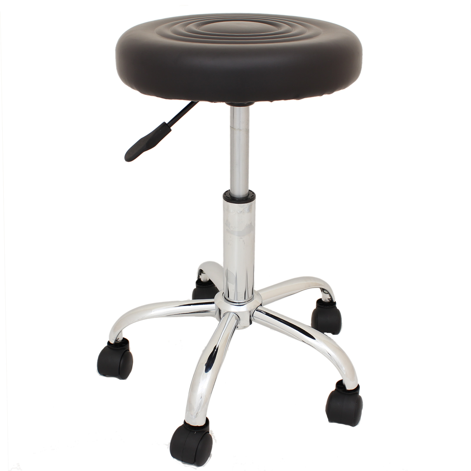 ADJUSTABLE SWIVEL CHAIR STOOL DRUMMER THRONE MUSICIANS PIANO