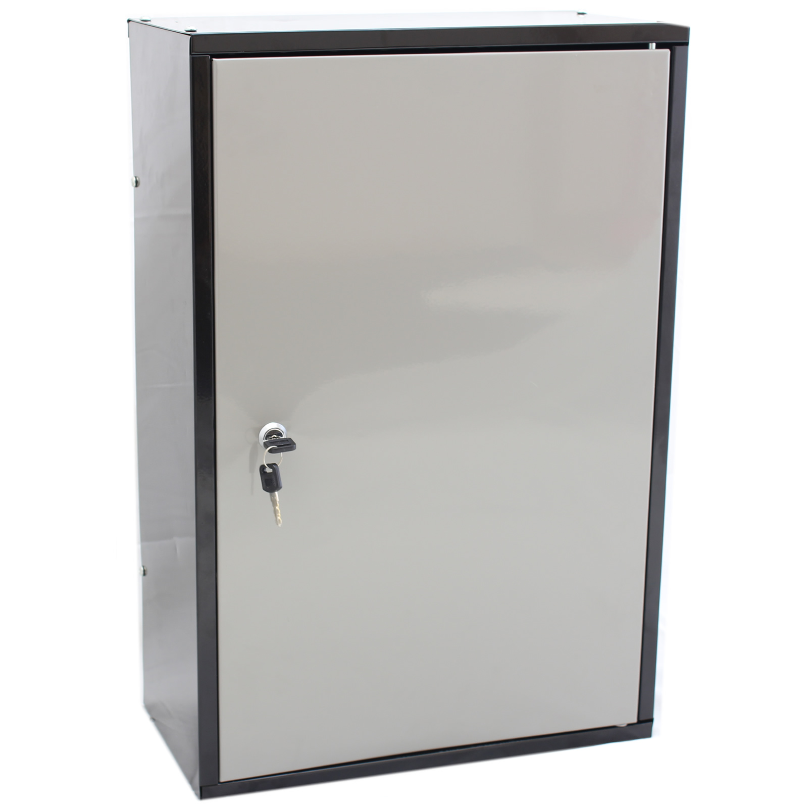 LOCKABLE METAL GARAGE SHED STORAGE CABINET WALL UNIT TOOL PAINT