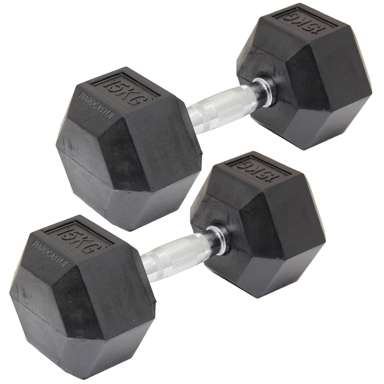RUBBER-DUMBBELL-HEX-WEIGHTS-BICEPS-WORKOUT-TRAINING-2-60KG-DUMBELLS-GYM-FITNESS