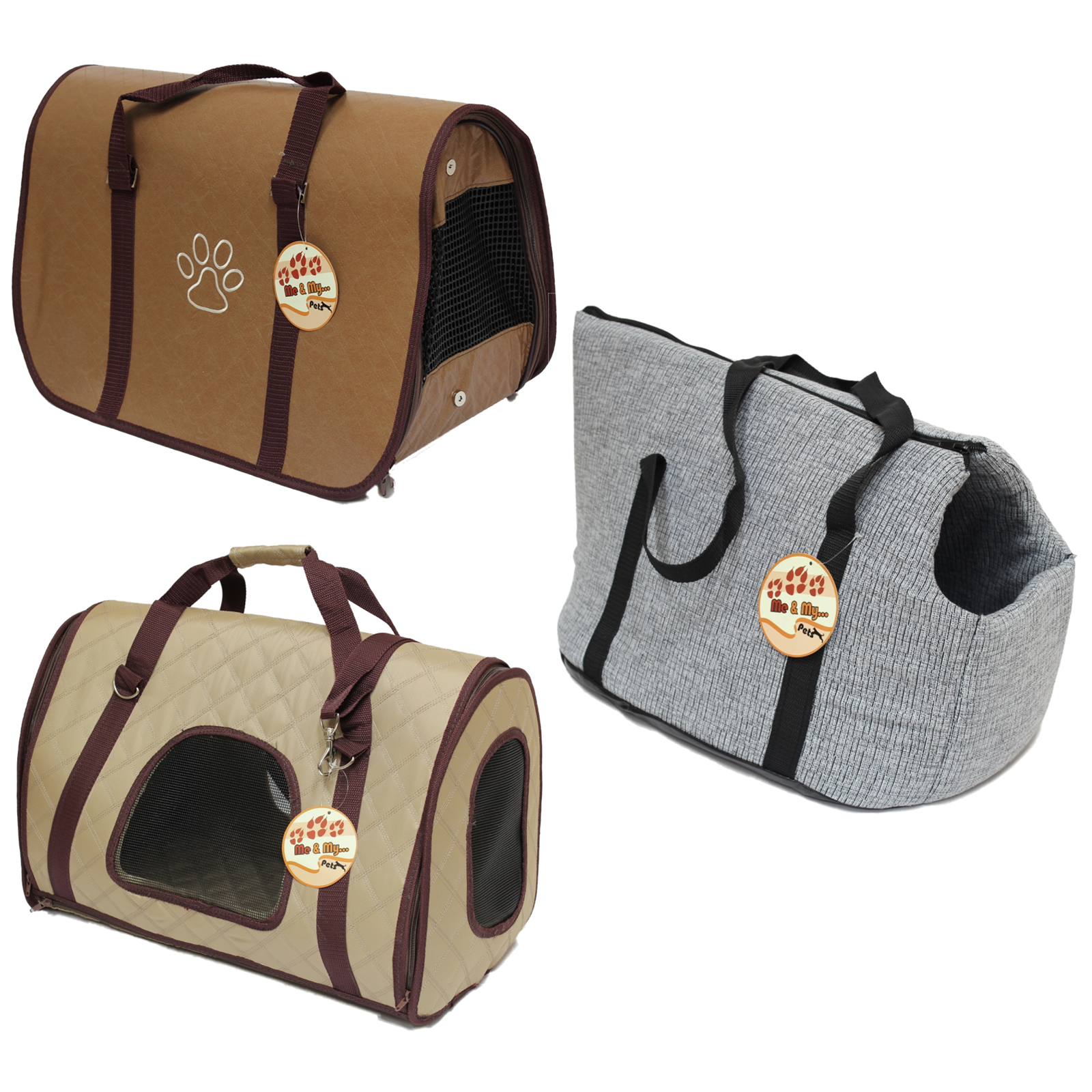 Pet Travel Bag For Dog Puppy Cat Kitten Rabbit Carrier Cage Crate