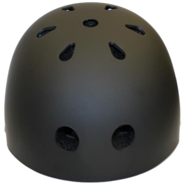Bicycle Cycle Bike Scooter BMX Skateboard Skate Stunt Bomber Black Helmet US New