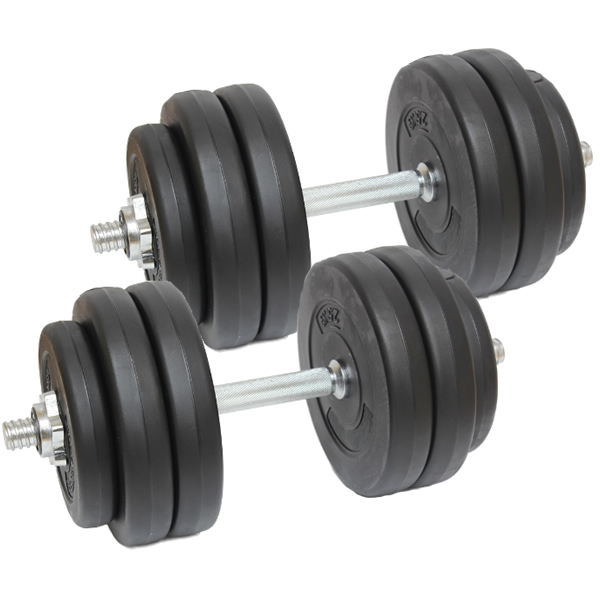 Free Weights Exercises: 30KG DUMBBELL FREE WEIGHTS SET GYM BARBELLS BICEPS/ARMS
