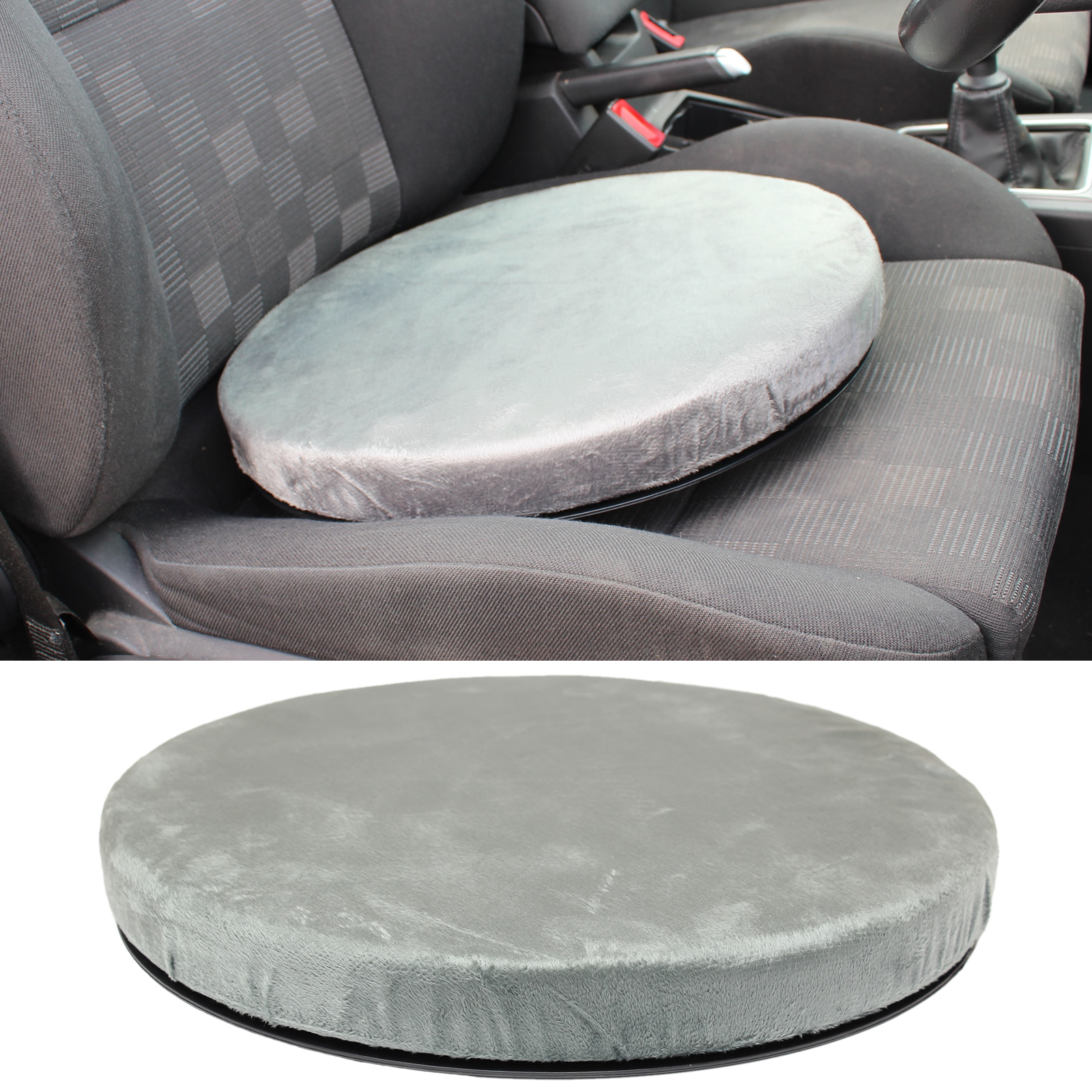 ROTATING SWIVEL SEAT CUSHION DINING CHAIR/CAR SPINNING MOBILITY AID ...