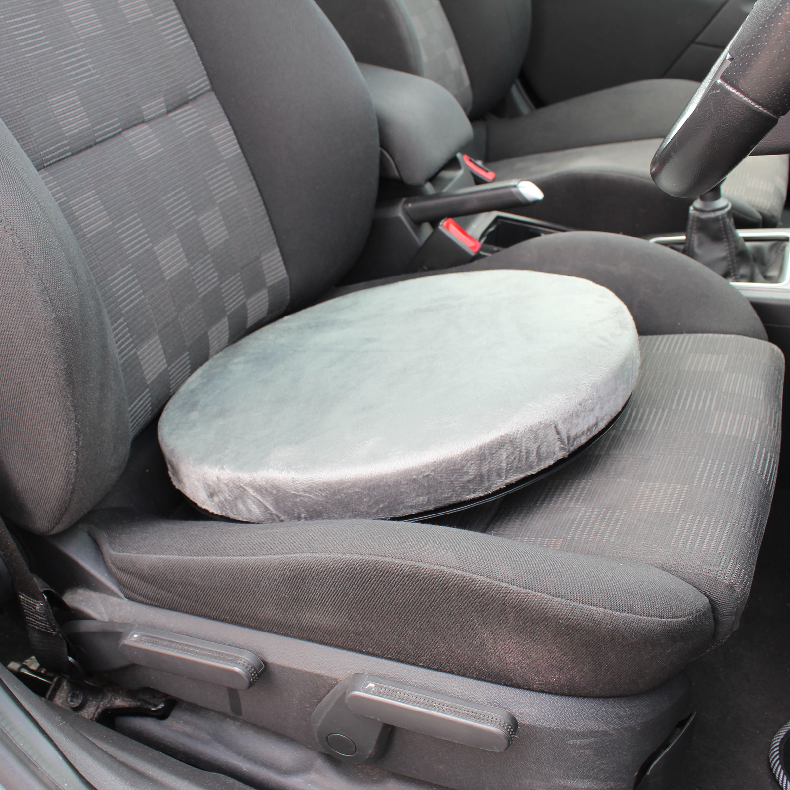 Sentinel ROTATING SWIVEL SEAT CUSHION DINING CHAIR CAR SPINNING MOBILITY AID PAD COMFY