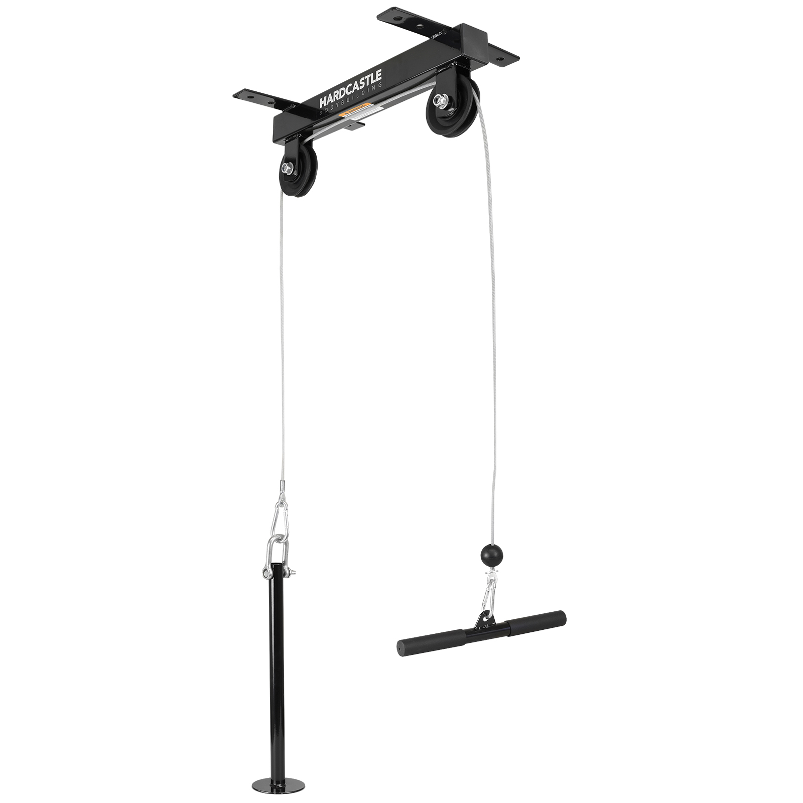 CEILING MOUNTED LAT PULL DOWN CABLE PULLEY MACHINE HOME MULTI GYM ...