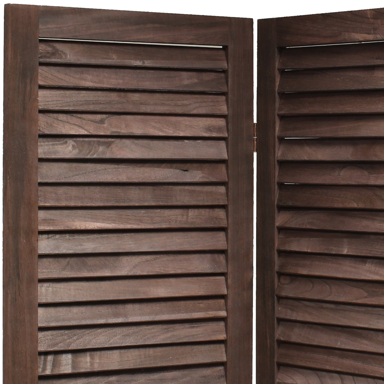 Sentinel WOODEN SLAT ROOM DIVIDER PRIVACY SCREEN/PARTITION/BLIND WIDE  SHABBY CHIC VINTAGE