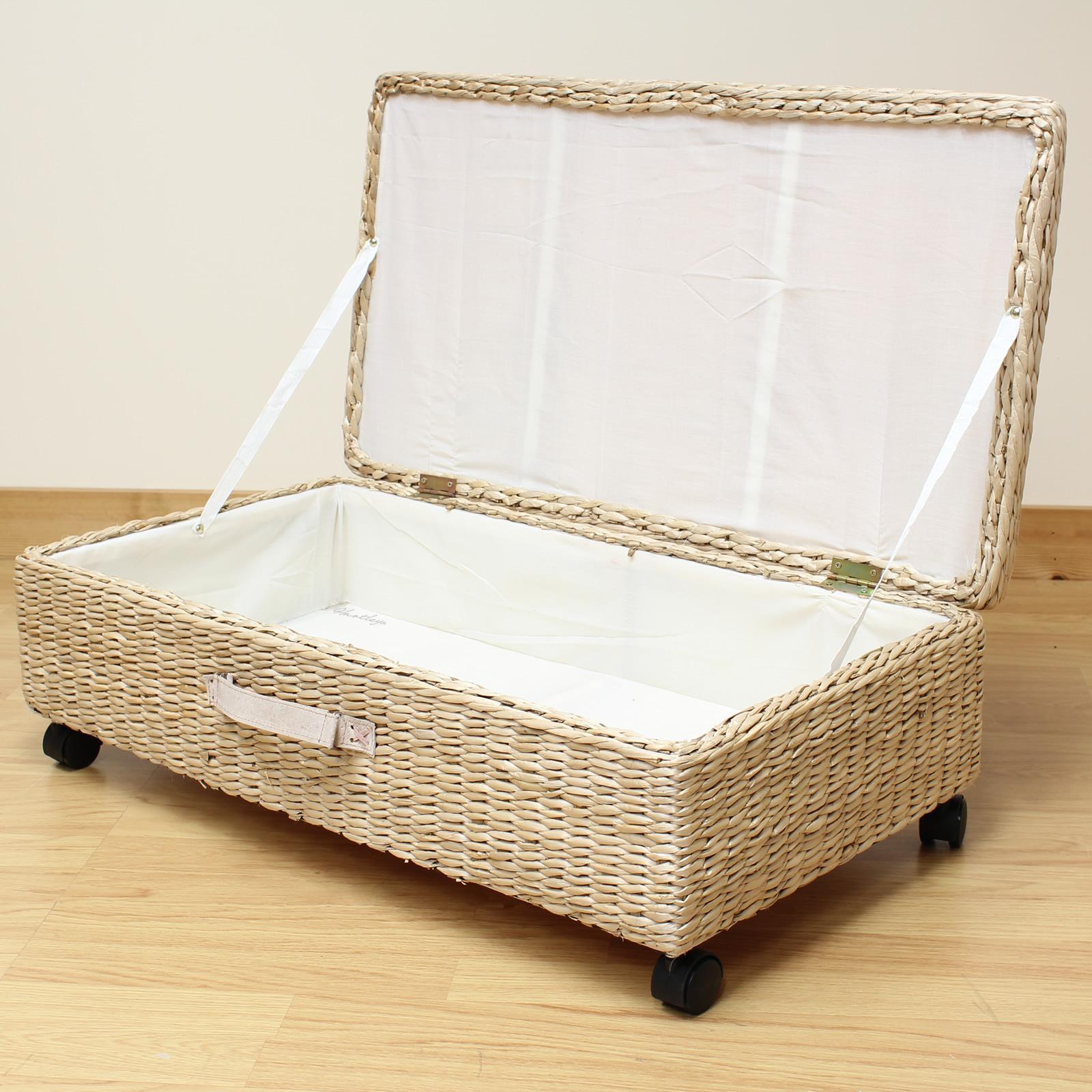 hartleys large under bed storage box chest shoes bedding blanket underbed trunk 5051990718968 ebay. Black Bedroom Furniture Sets. Home Design Ideas