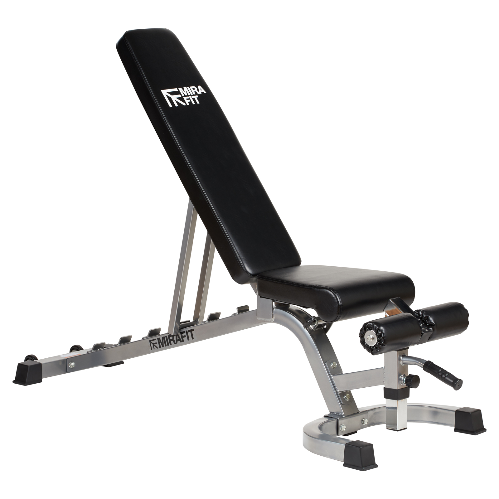 Mirafit Adjustable Fid Flat Incline Decline Weight Bench