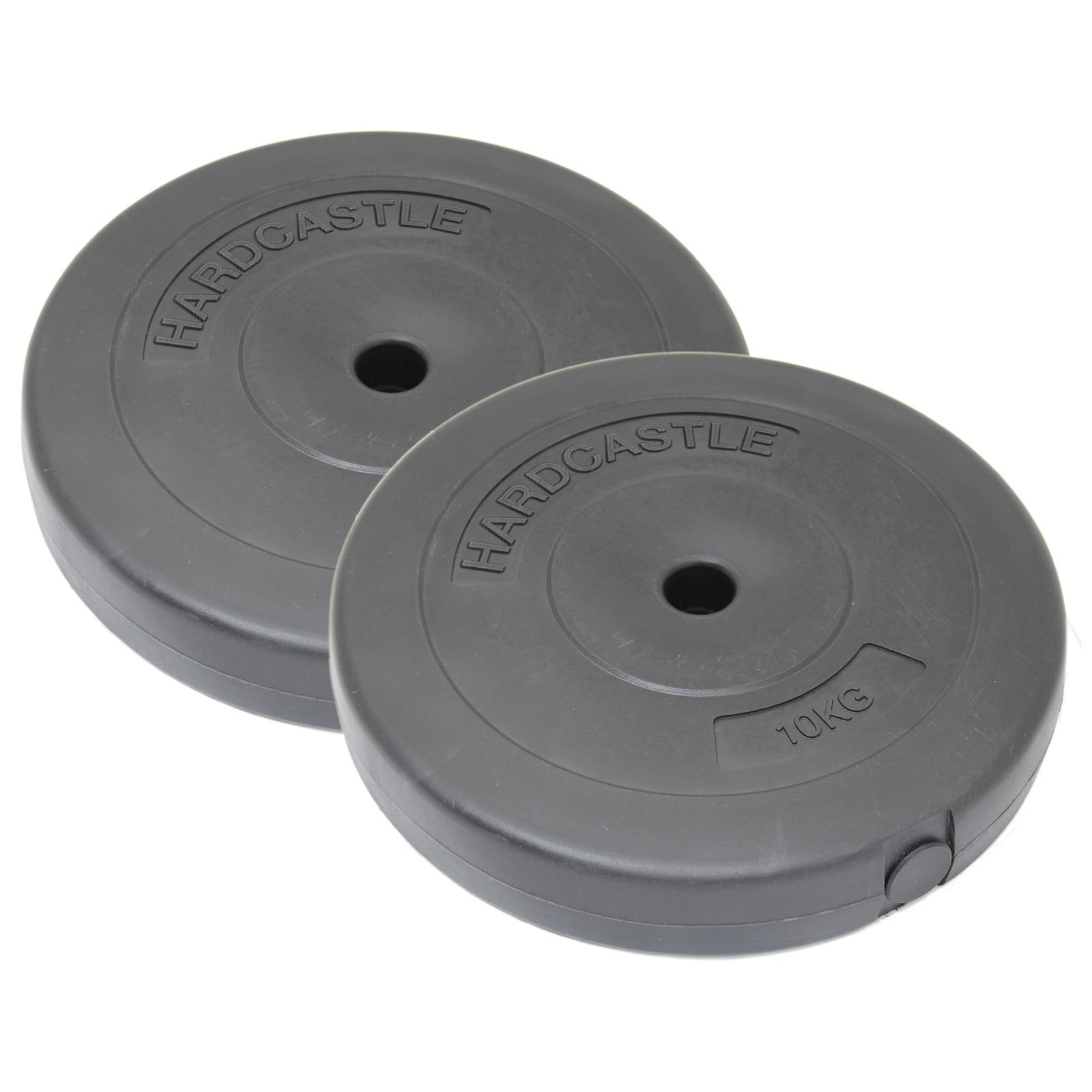 Sale 2x 10kg 1 Quot Home Gym Vinyl Weight Plates Discs 20kg