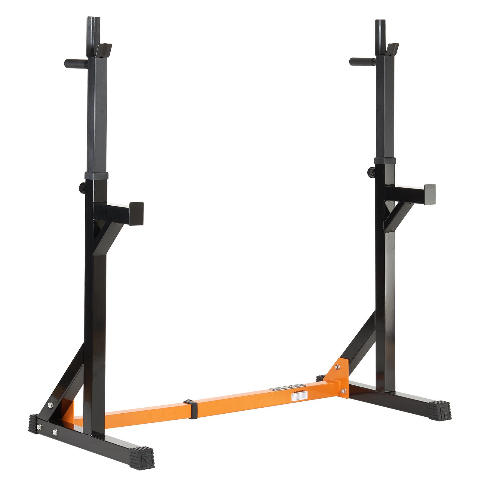 Mirafit Fully Adjustable Squat & Dip Rack Gym Weight Lifting Power ...
