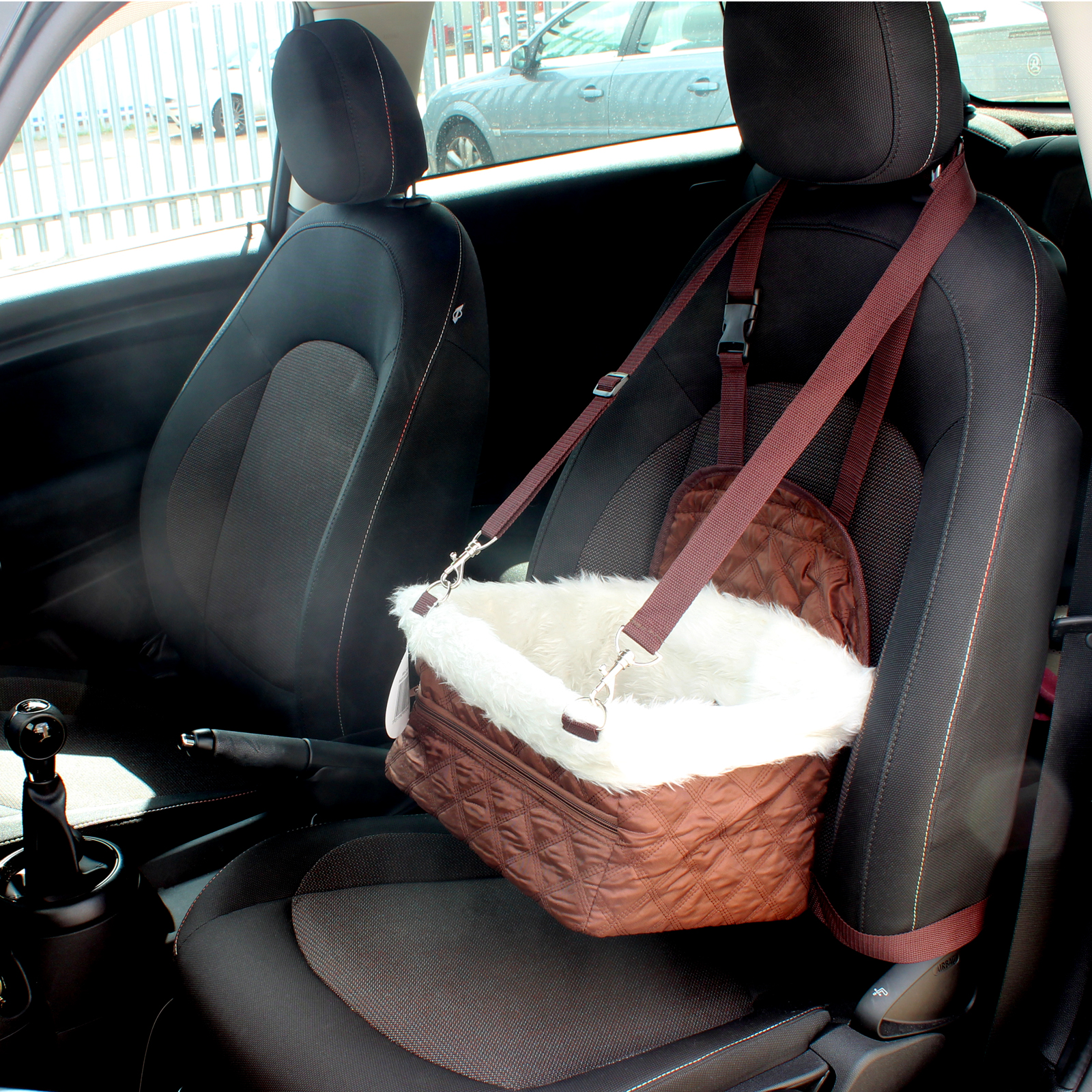 Me Amp My Pet Small Car Booster Seat Amp Carrier For Dog Puppy