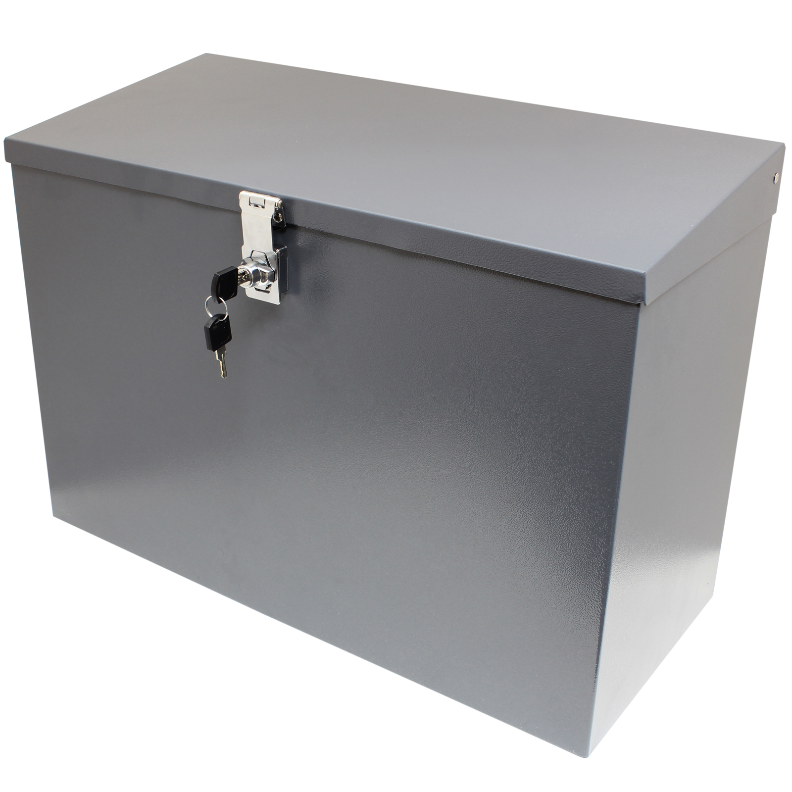 Sentinel HARDCASTLE LARGE GREY LOCKABLE LETTERBOX/PARCEL BOX HOME DELIVERY  SECURE STORAGE