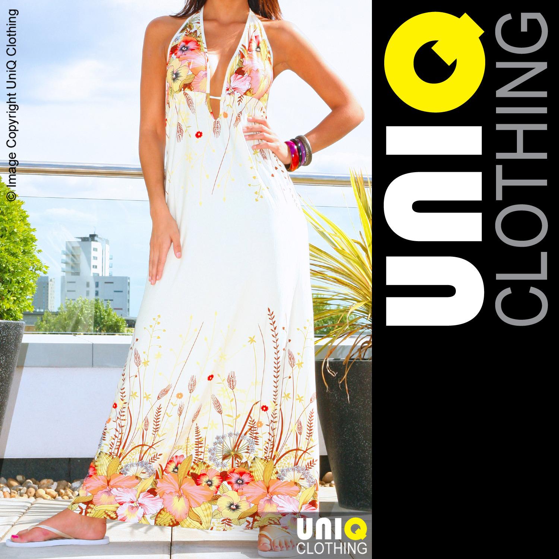 uniq clothing uniq uk long womens maxi summer dress boho hippie
