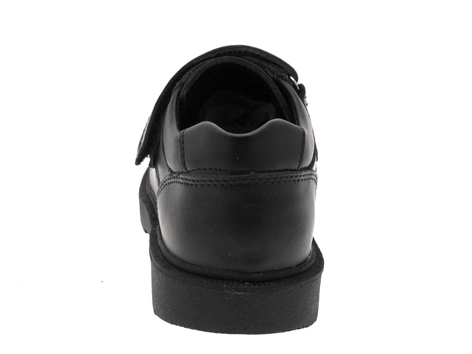 Boys Black Leather School Shoes Sports Trainers Smart Formal Wedding