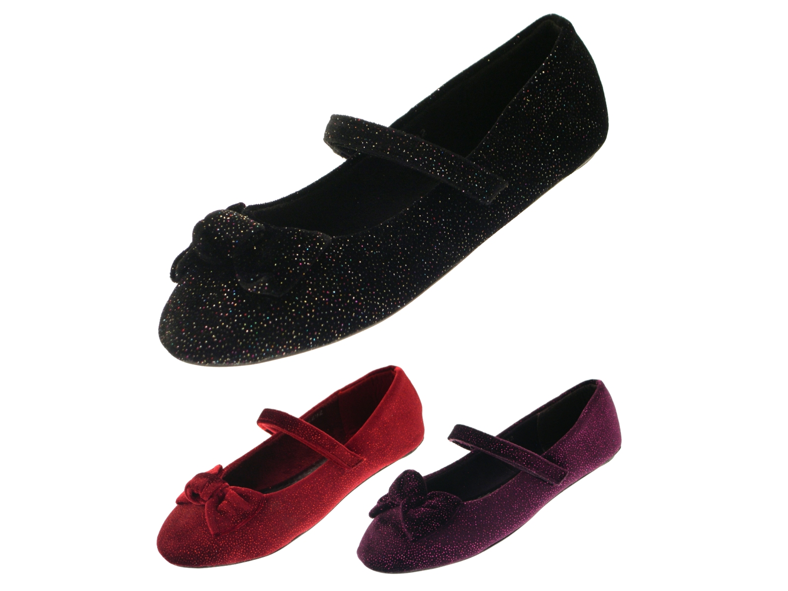 Classic Black Flat Shoes