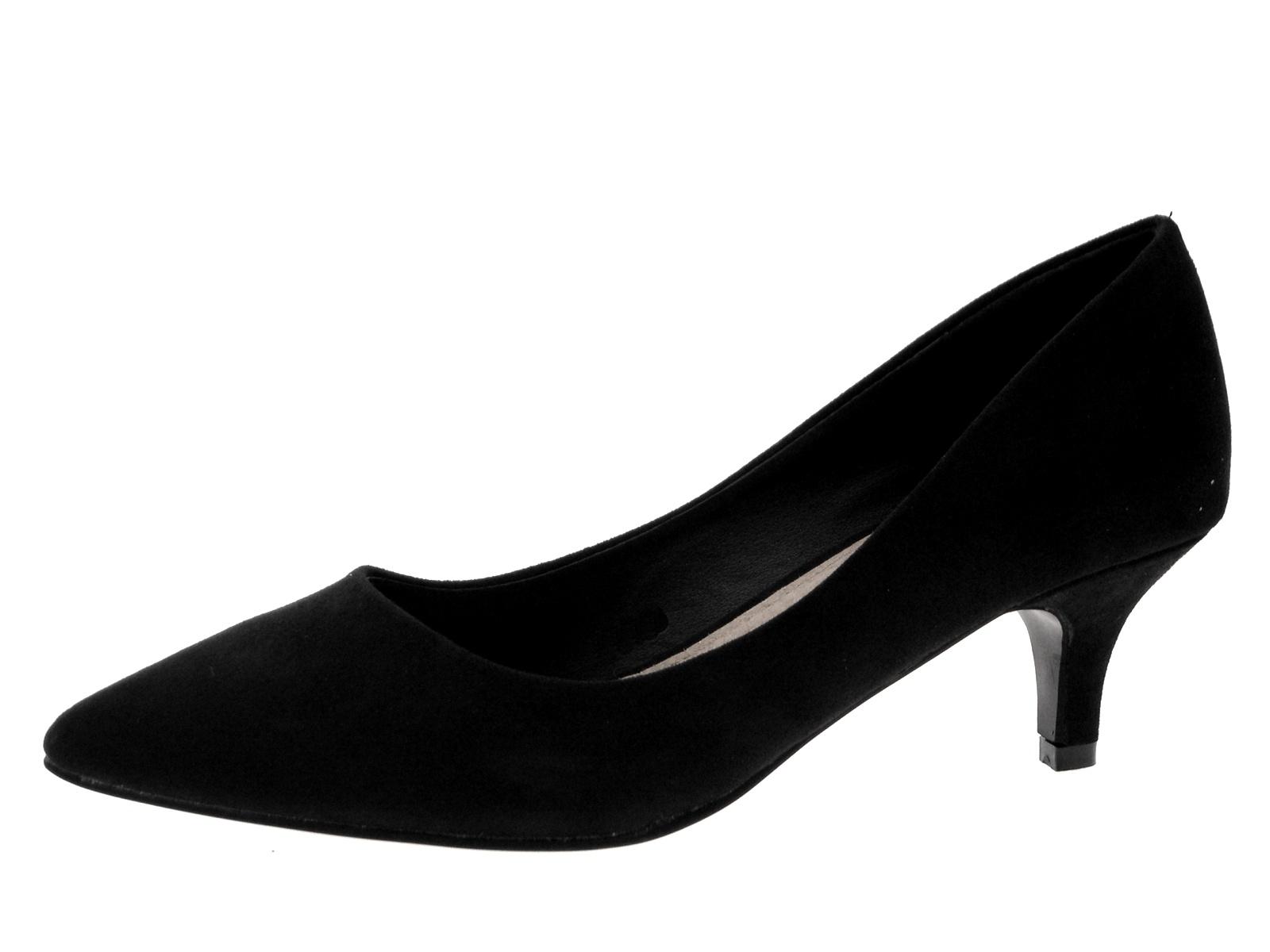 Offic Ladies Burgandy Suede Shoes