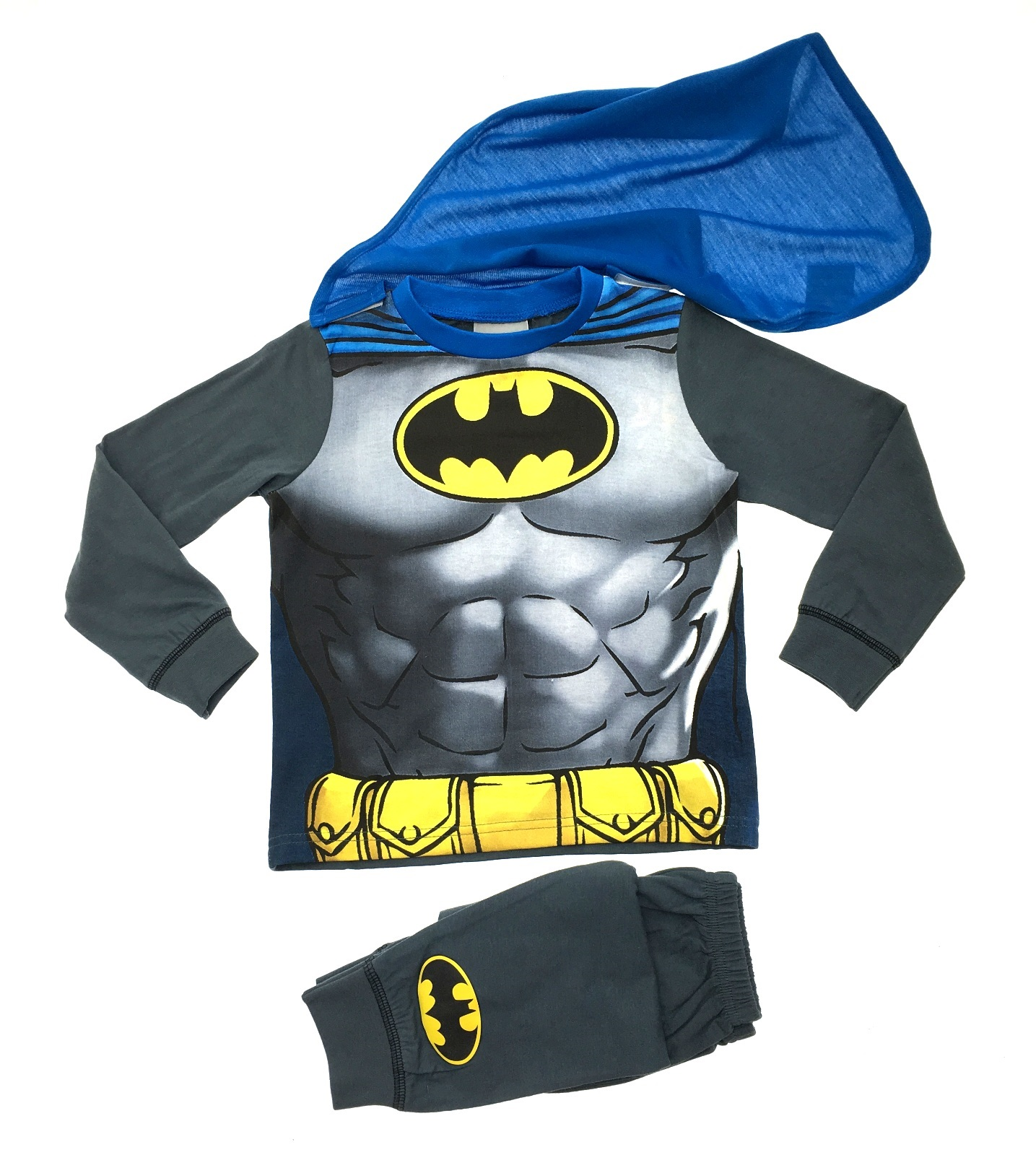 Kids Boys Fancy Dress Up Play Party Costumes / Pyjamas Pjs Set Size ...