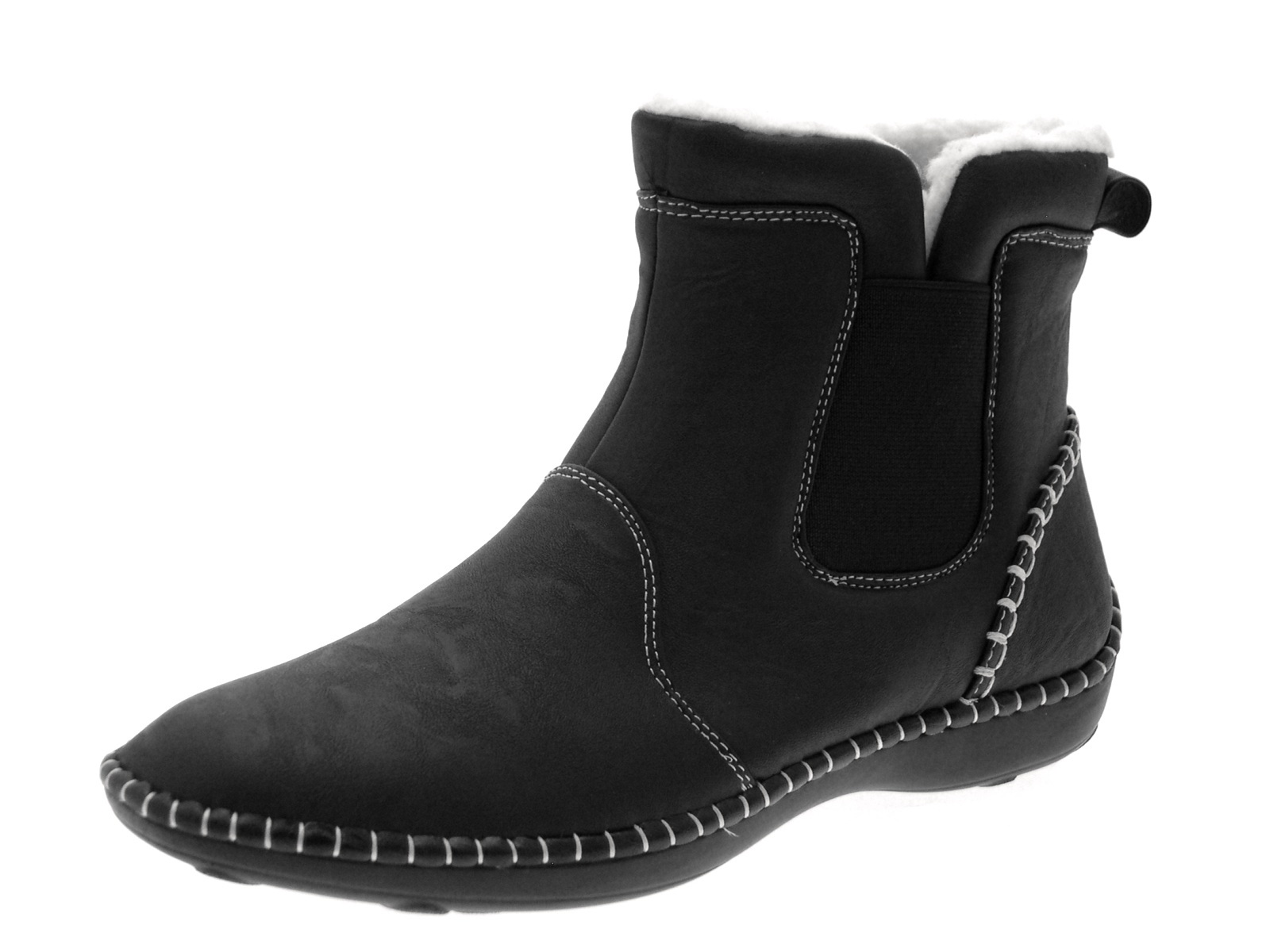 Ankle Boots Comfortable Flat Women