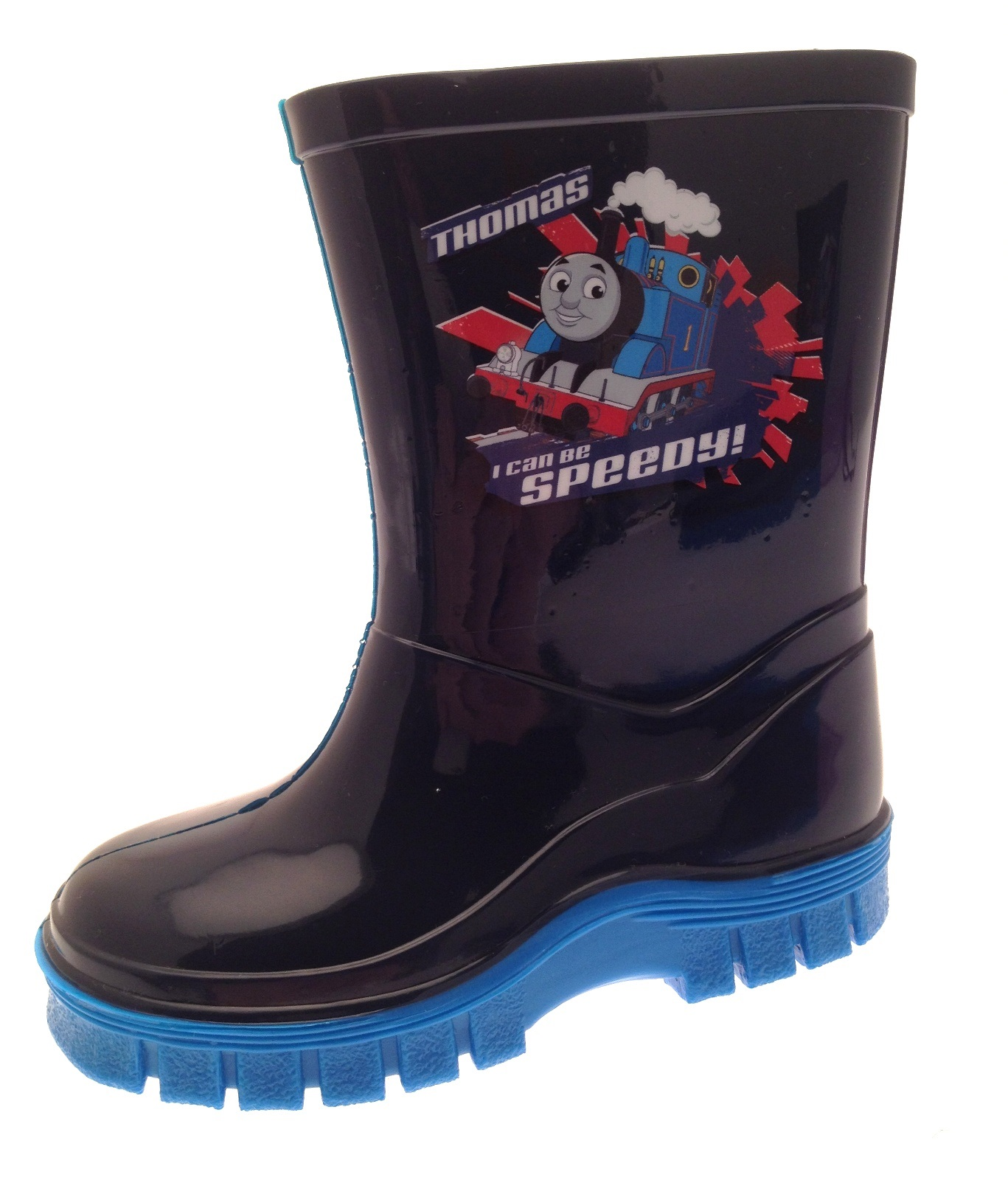 Thomas the Tank Engine Navy Blue Wellies UK 8 6mnOUwhjGd