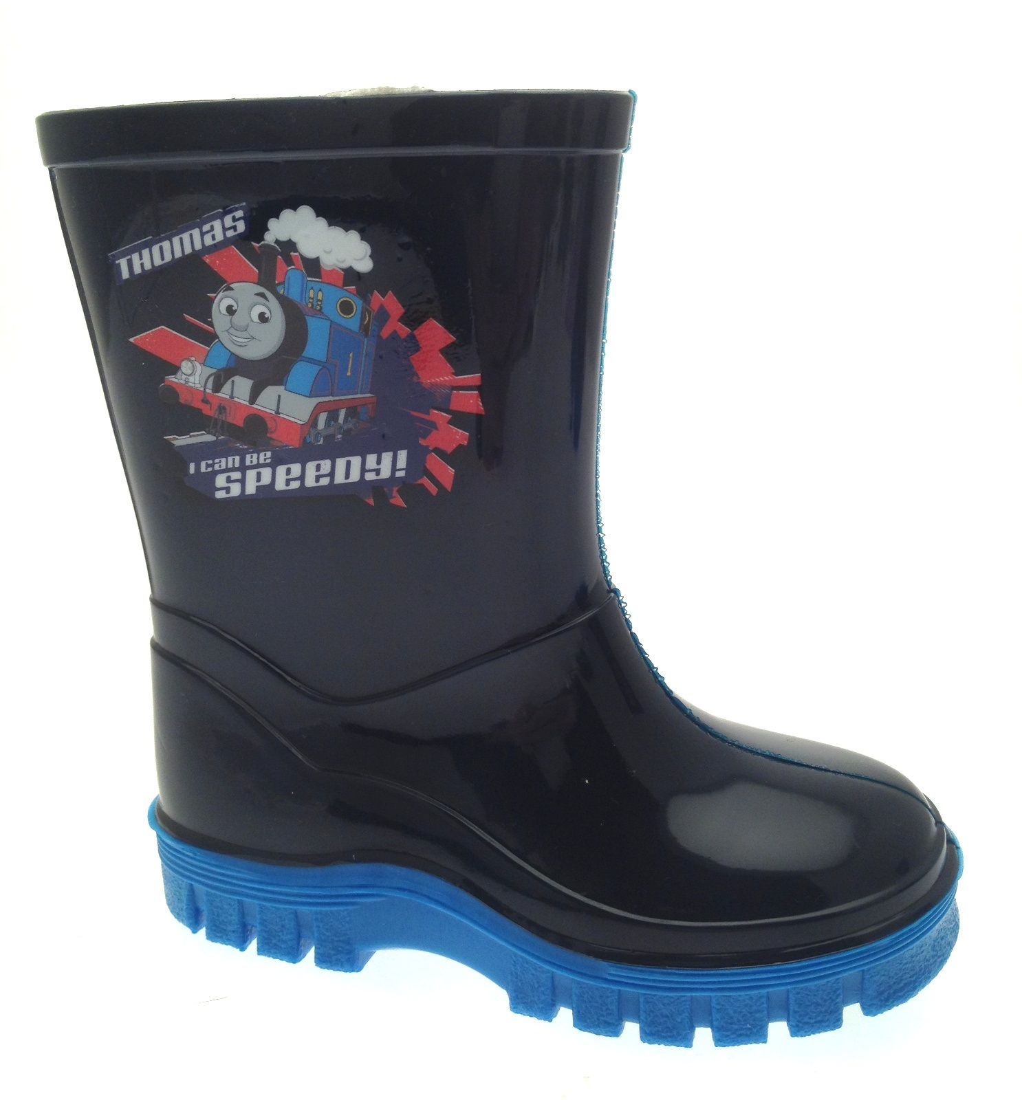 Size 4-10 Thomas Tank Engine Snow Boots Childrens Snow Boots Boys Train Boots