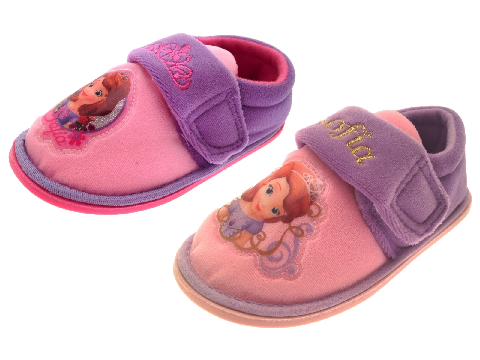 Sofia First Princess Shoes In Size Slip On