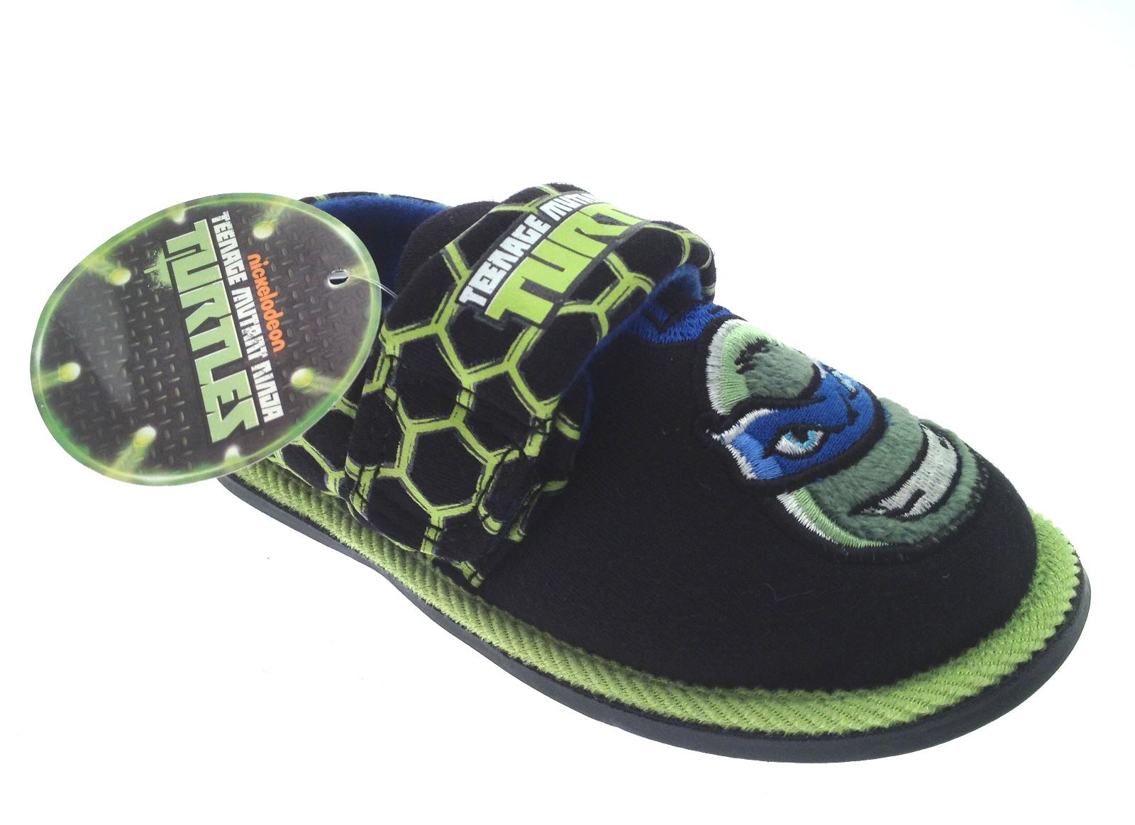 Mutant Ninja Turtles Child/'s Size 910 Slippers