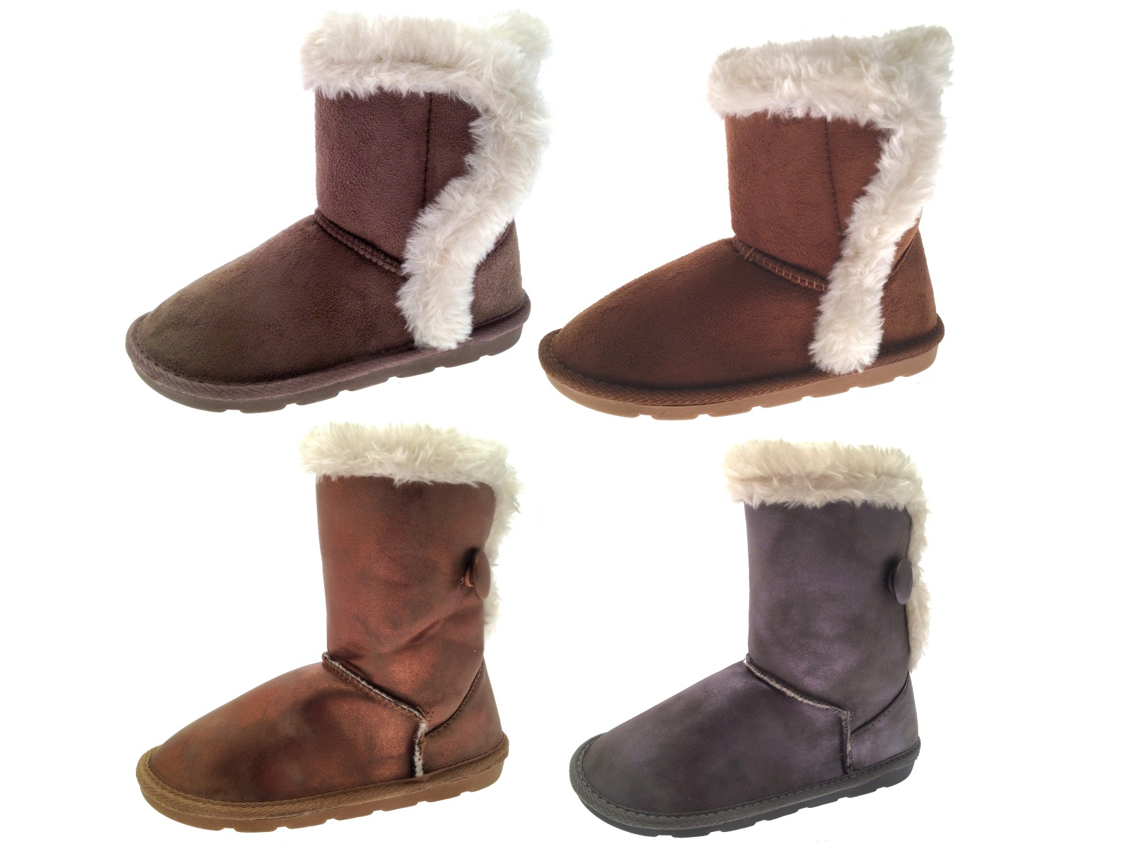 GIRLS Faux Suede Boots