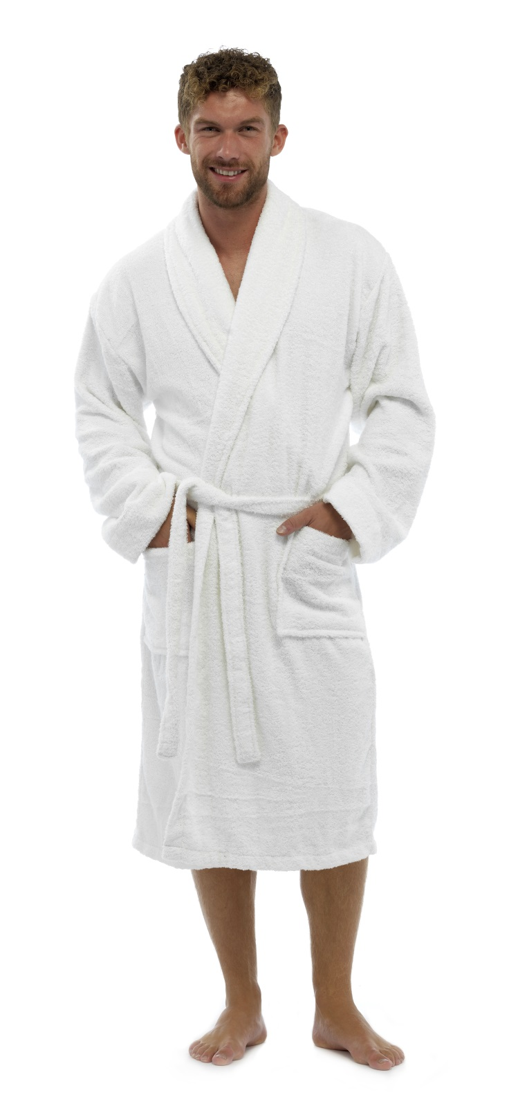 mens pure 100 cotton luxury towelling bath robes dressing. Black Bedroom Furniture Sets. Home Design Ideas