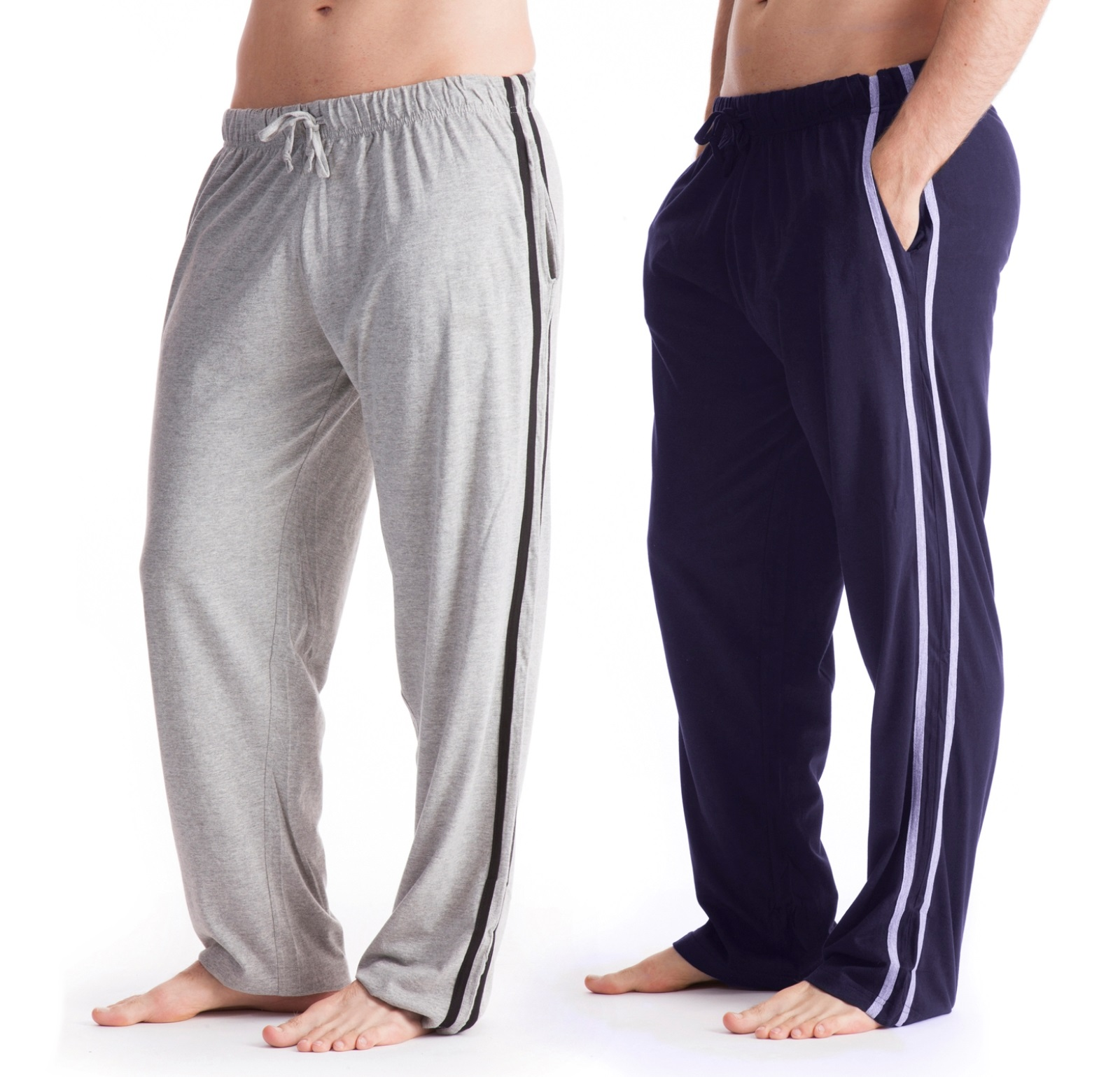 Mens Lounge Pants Tracksuit Bottoms Sports Trousers 2 Pack
