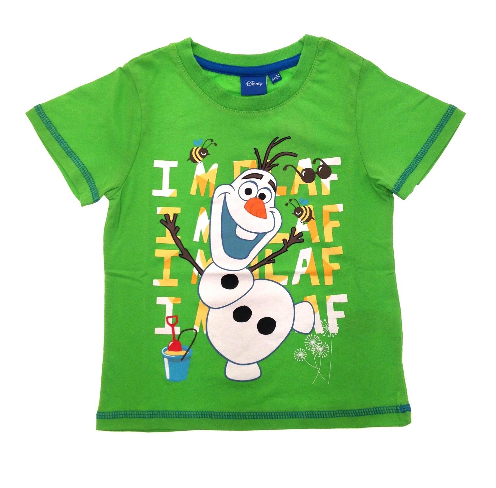 Girls Boys Official Disney Frozen T-Shirts Kids Olaf ...