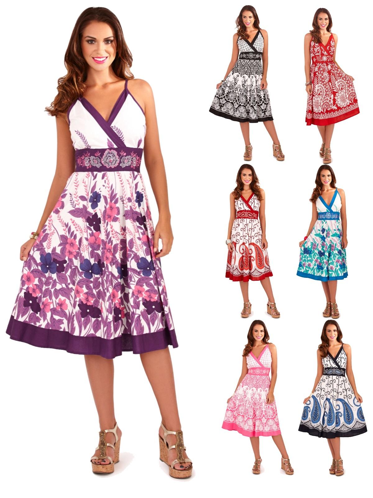 V Neck Summer Dresses