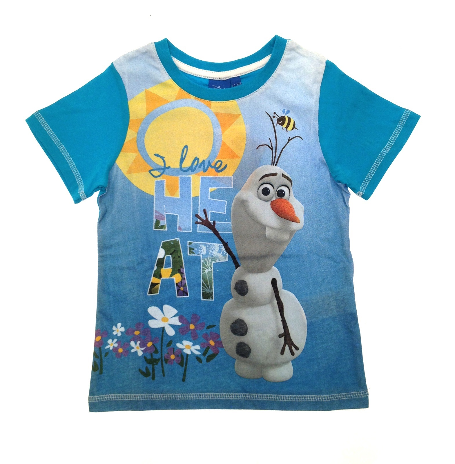 Disney frozen t shirts tops summer clothing childrens boys for Girls shirts size 8