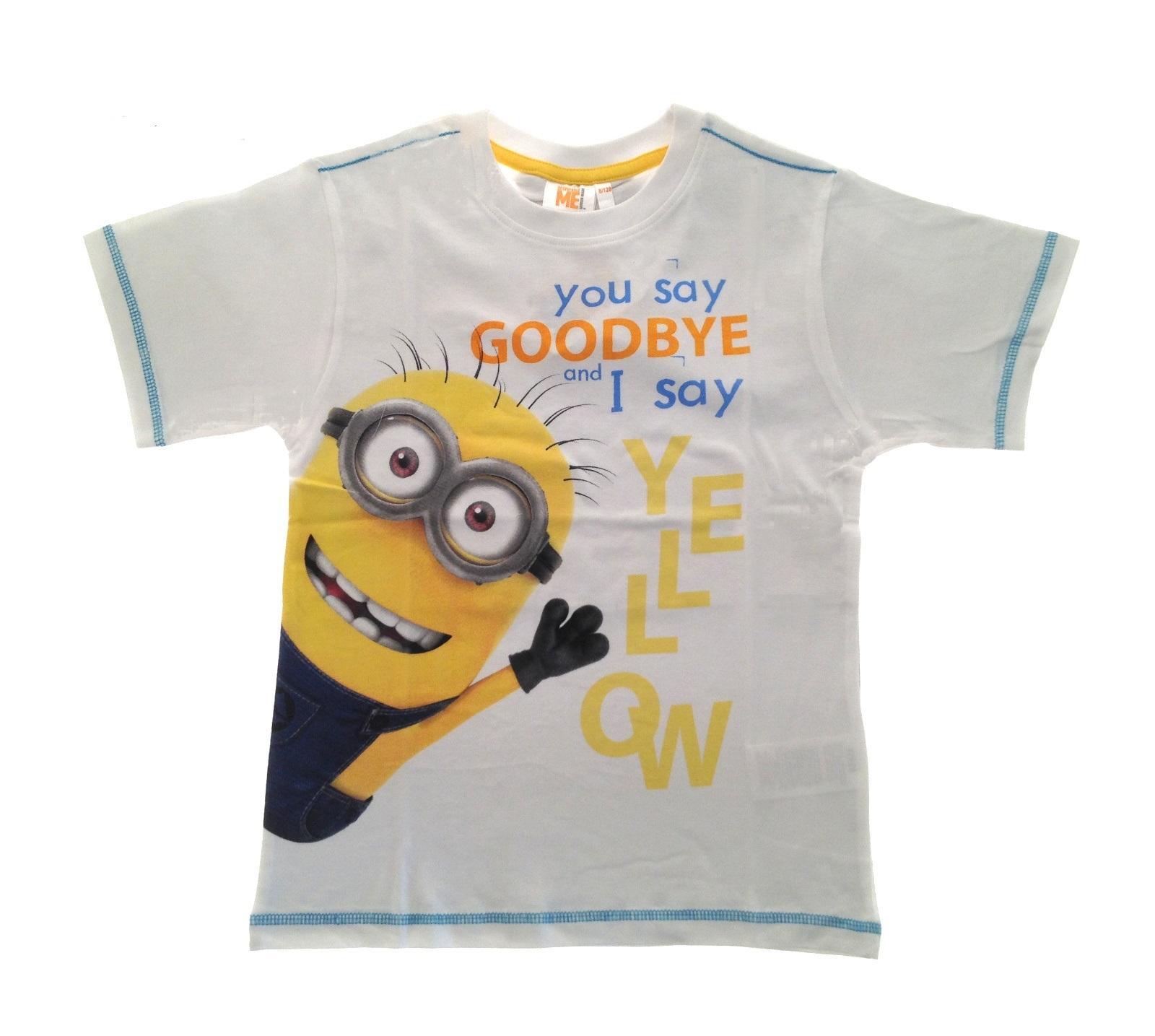 b013fe1af Kids Minions T-Shirts Boys Girls Beach Holiday Summer Tops 100 ...
